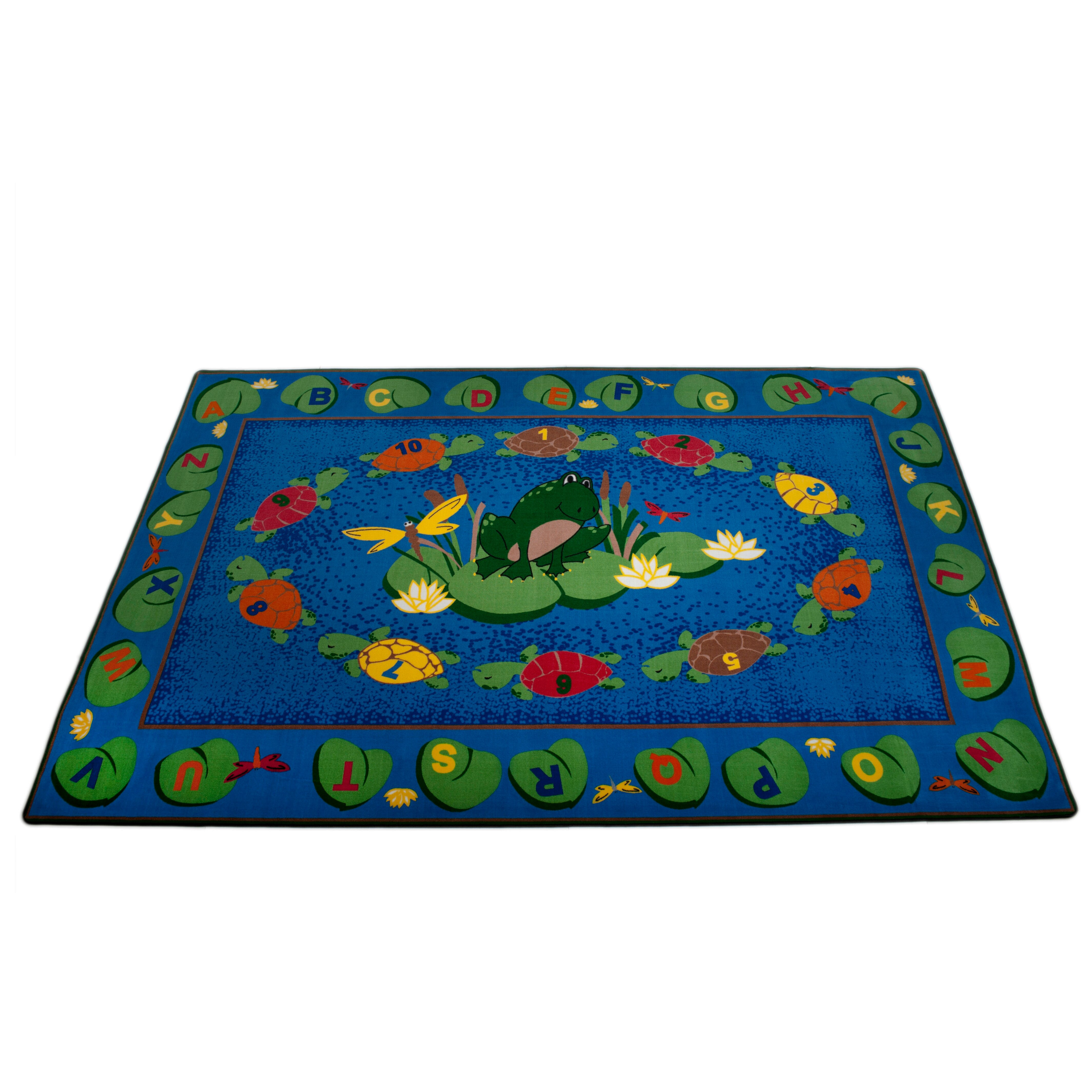 Kid Carpet Turtle Circle Time Area Rug & Reviews
