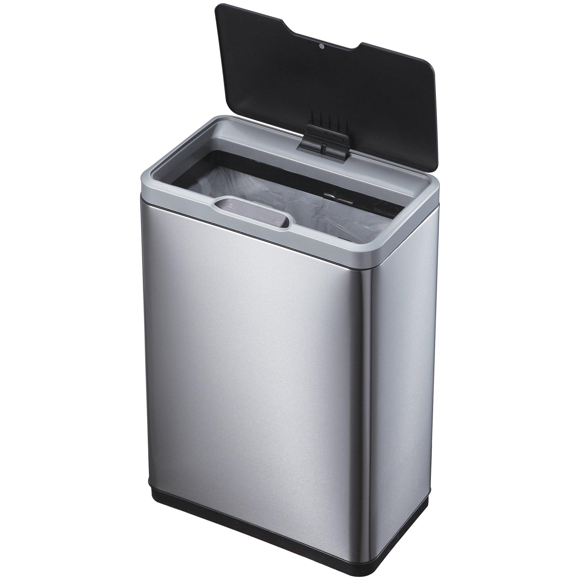 Bathroom Garbage Cans  Commercial Restroom Trash Cans