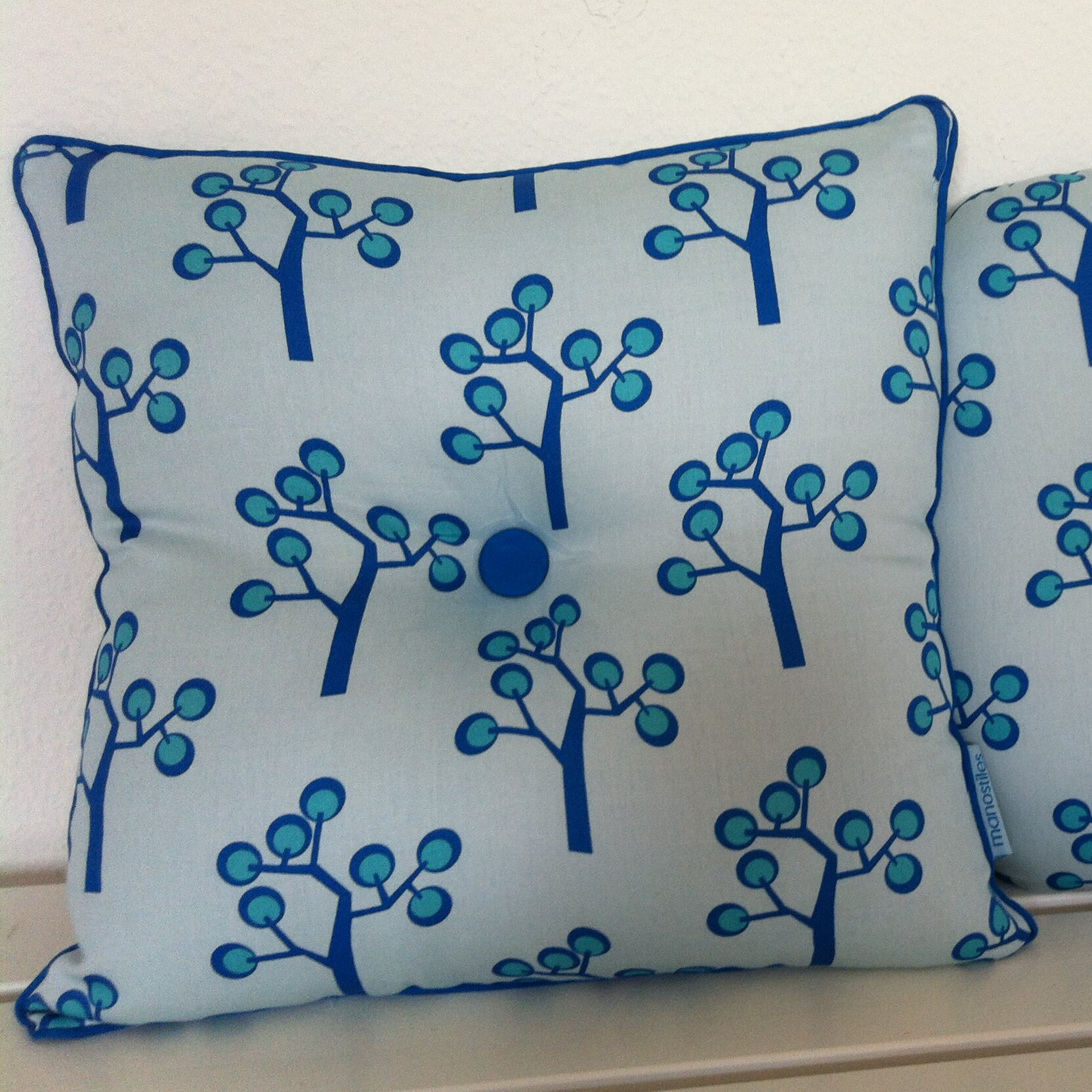 Scantrends Graphic Tree Kids Cotton Throw Pillow Wayfair