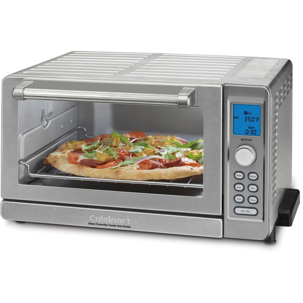 Countertop Toaster Convection Oven Reviews : Cuisinart Deluxe Convection Toaster Oven Broiler & Reviews Wayfair