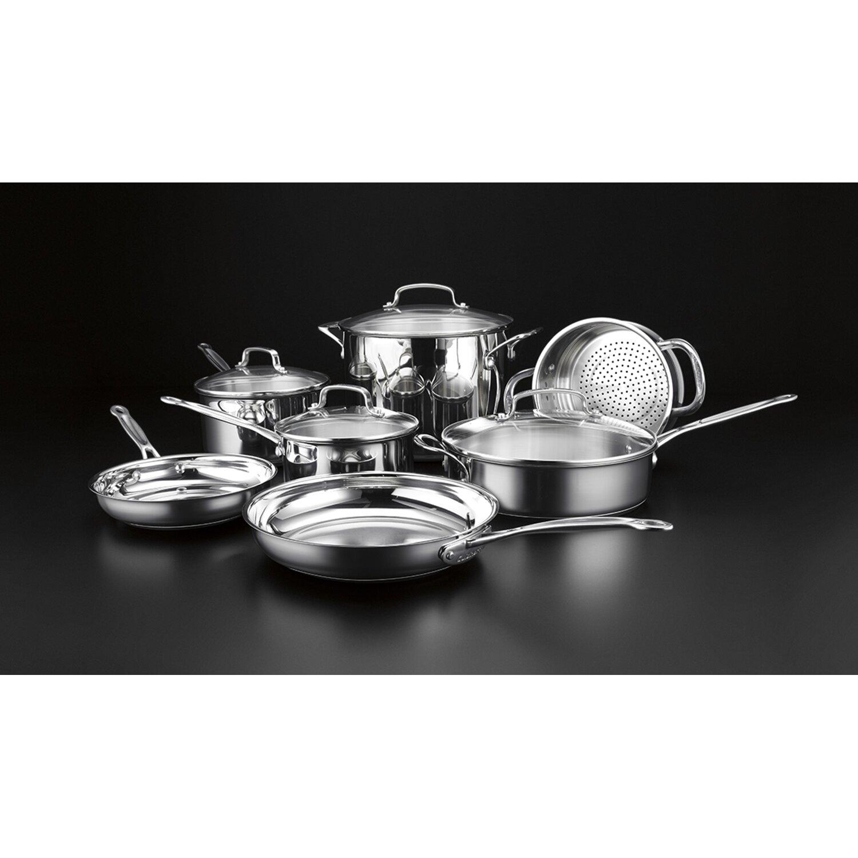 Cuisinart Chef 39 S Classic 11 Piece Cookware Set Reviews