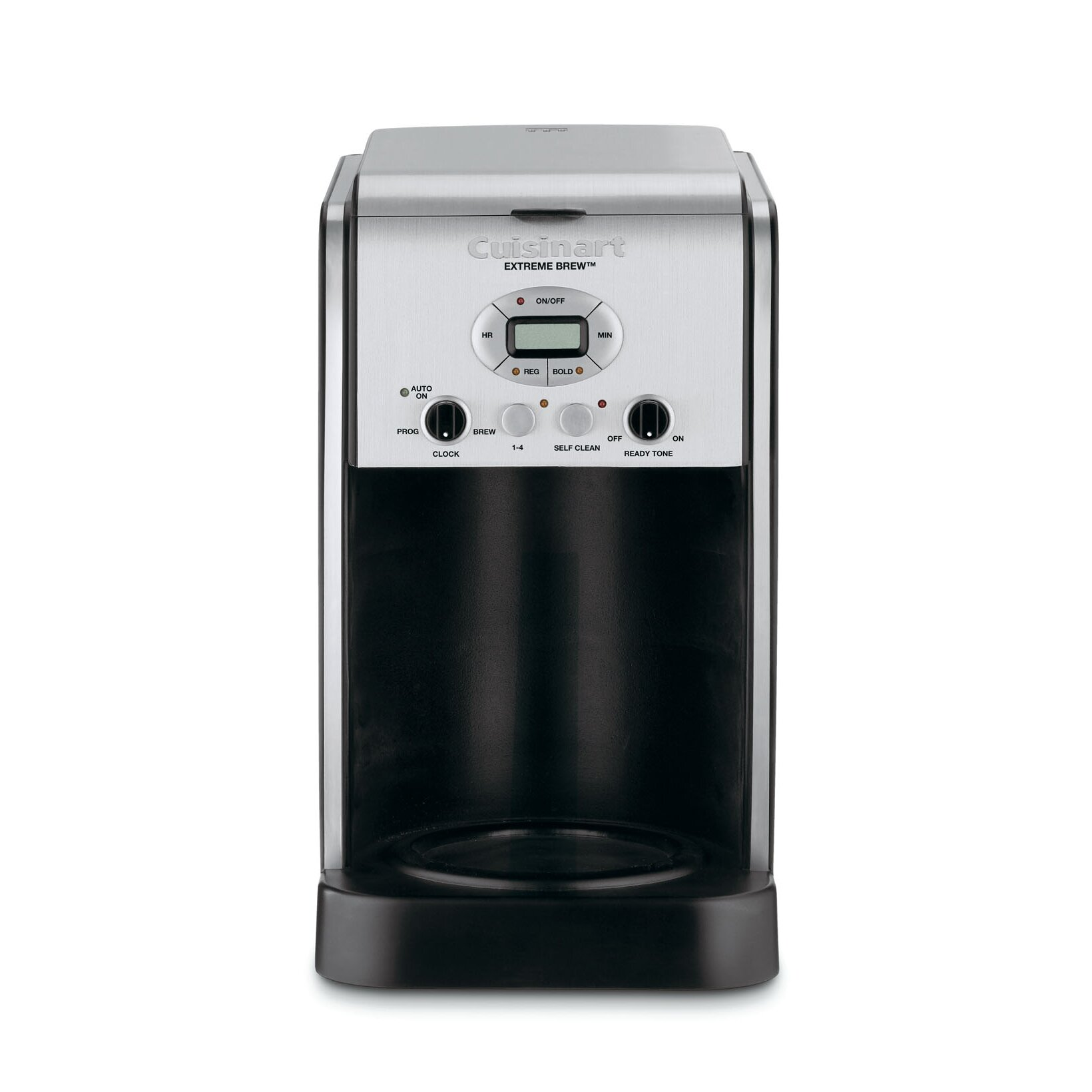 Cuisinart extreme brew 10 cup thermal programmable coffee for Apartment size coffee maker