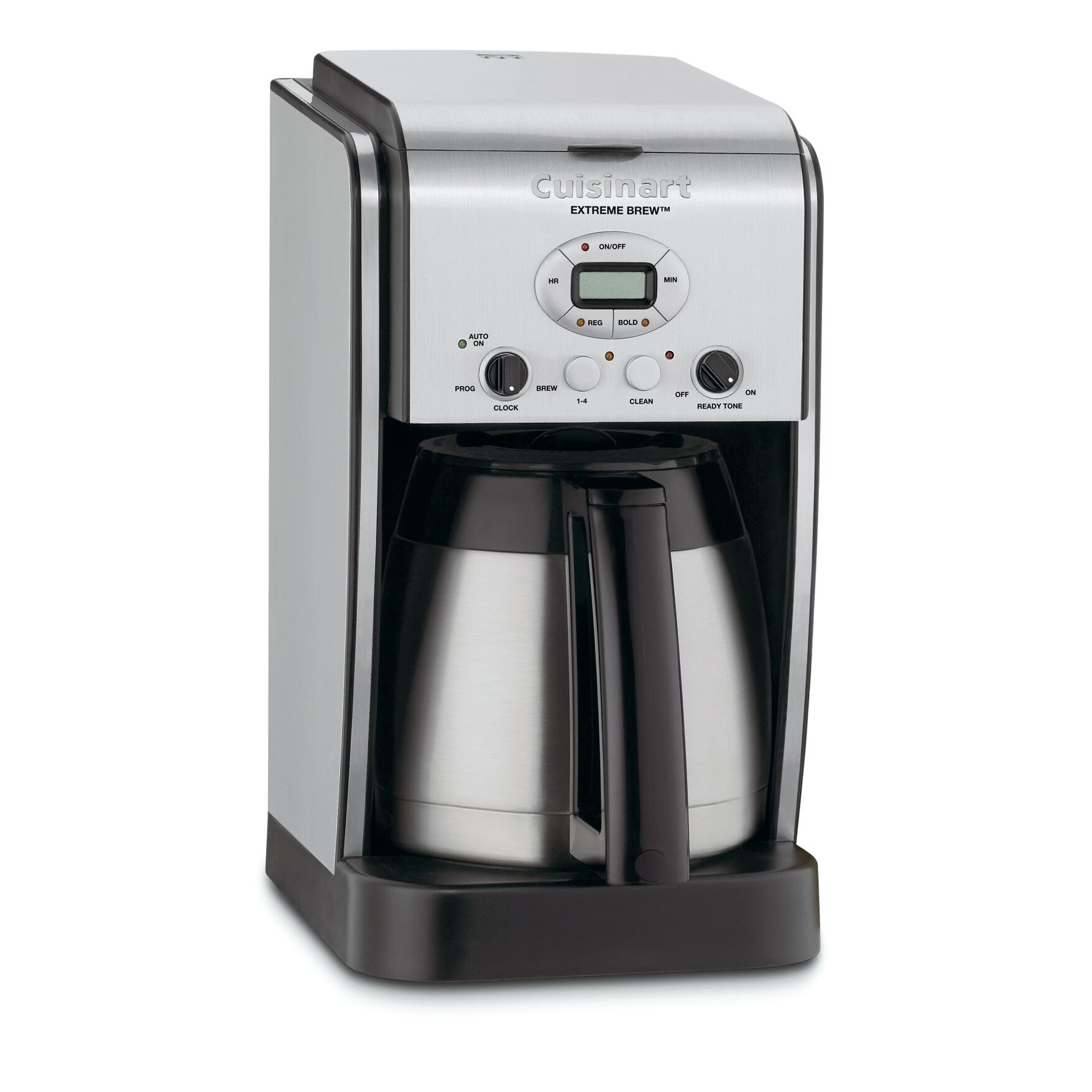 programmable coffee maker cuisinart brew 10 cup thermal programmable coffee 12717