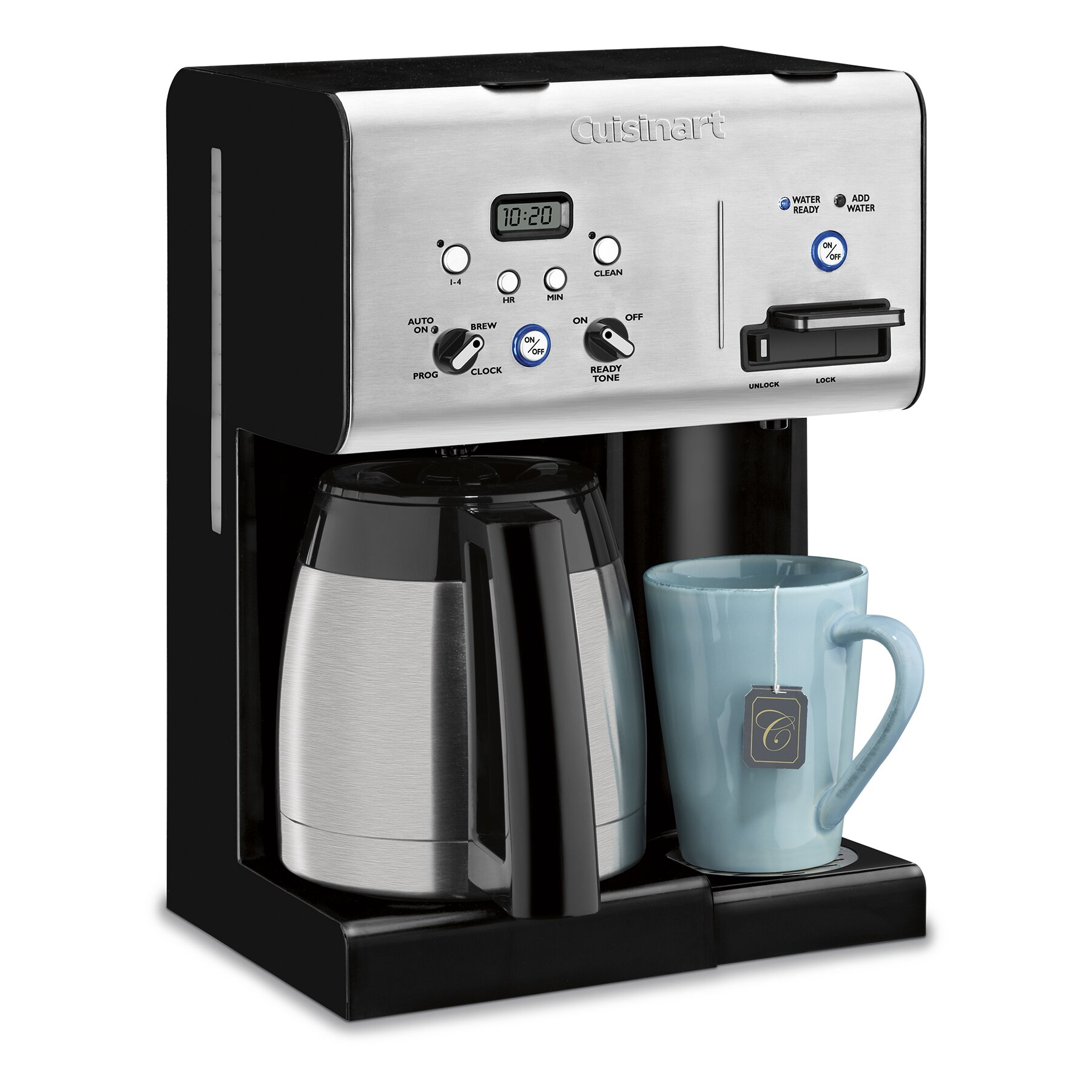 Cuisinart 10 Cup Thermal Programmable Coffee Maker  : 10 Cup Thermal Programmable Coffee Maker CHW 14 from www.wayfair.com size 1800 x 1800 jpeg 315kB