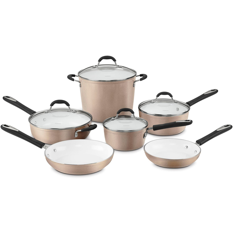 Cuisinart Elements 10 Piece Non Stick Cookware Set