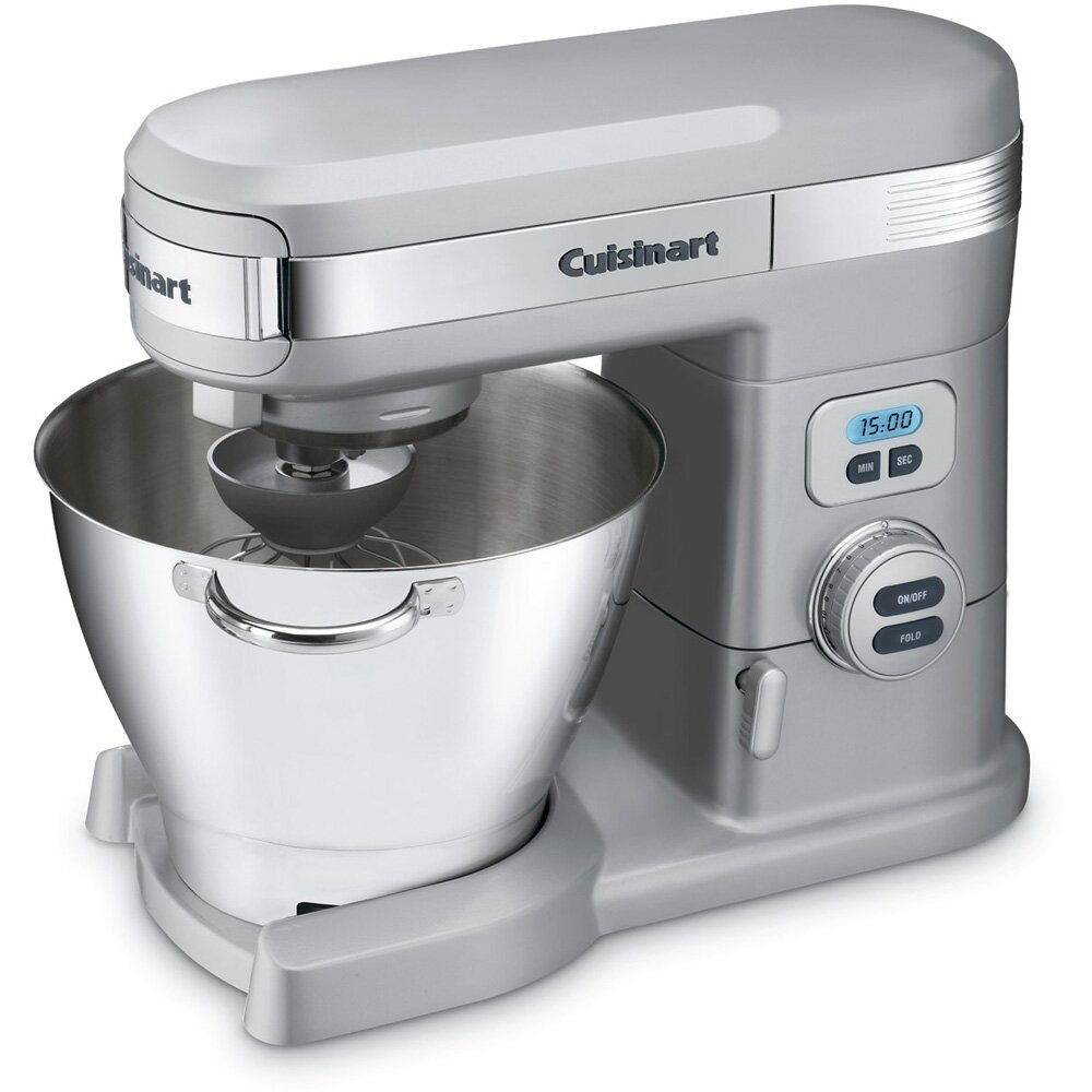Kitchen Mixer Reviews: Cuisinart 5.5 Qt. Stand Mixer & Reviews