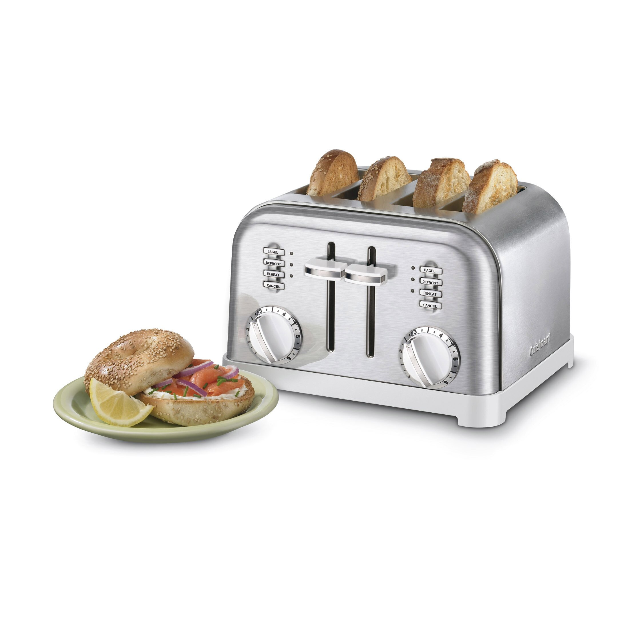 Cuisinart Metal Classic 4 Slice Toaster Amp Reviews
