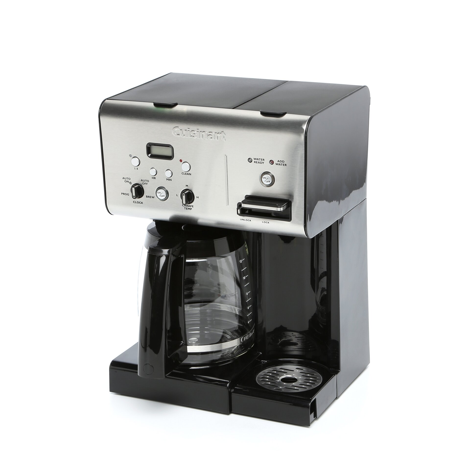 Cuisinart Coffee Maker 12 Cup Programmable Reviews : Cuisinart Programmable 12 Cup Coffee Maker with Hot Water System & Reviews Wayfair