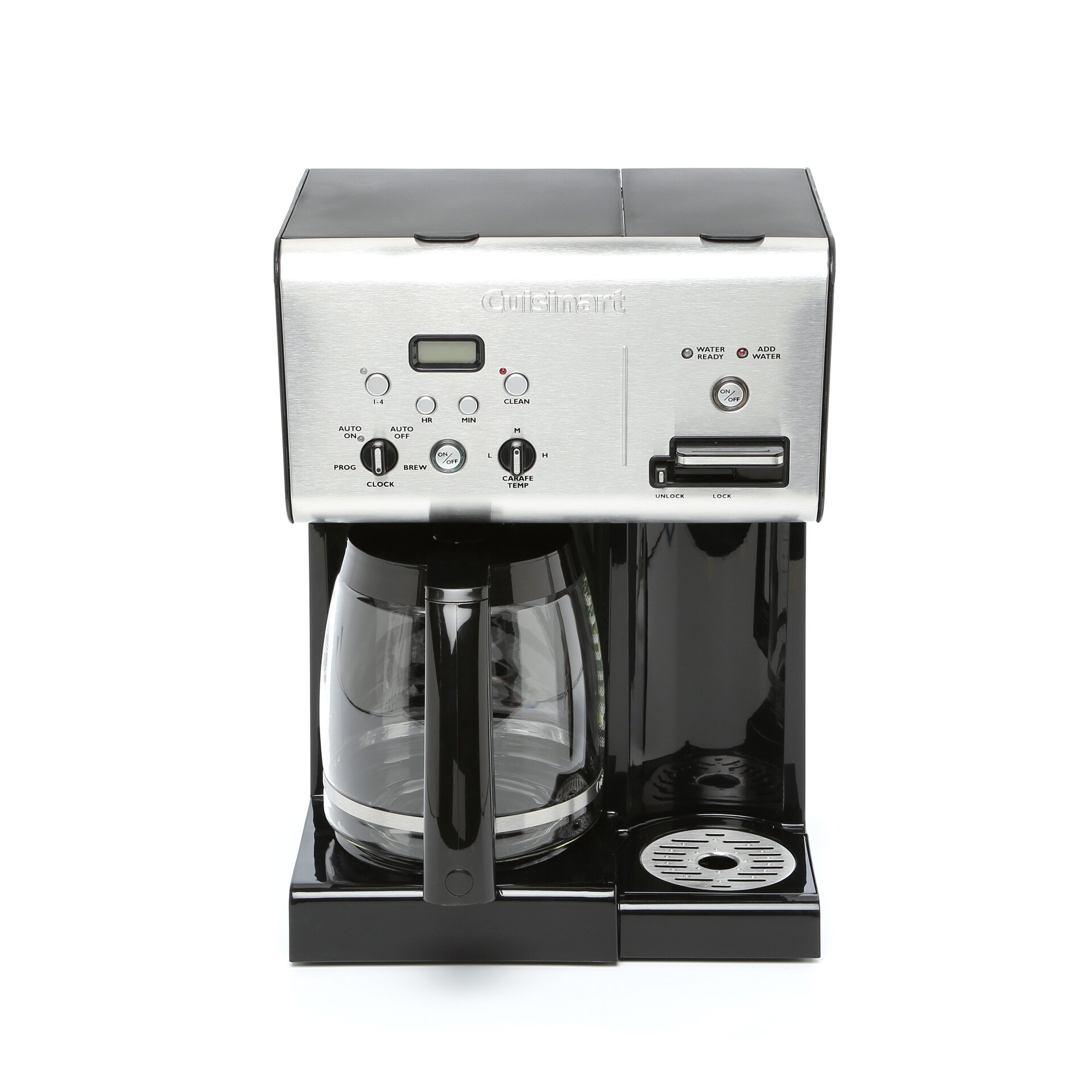 Cuisinart Programmable 12 Cup Coffee Maker with Hot Water System & Reviews Wayfair