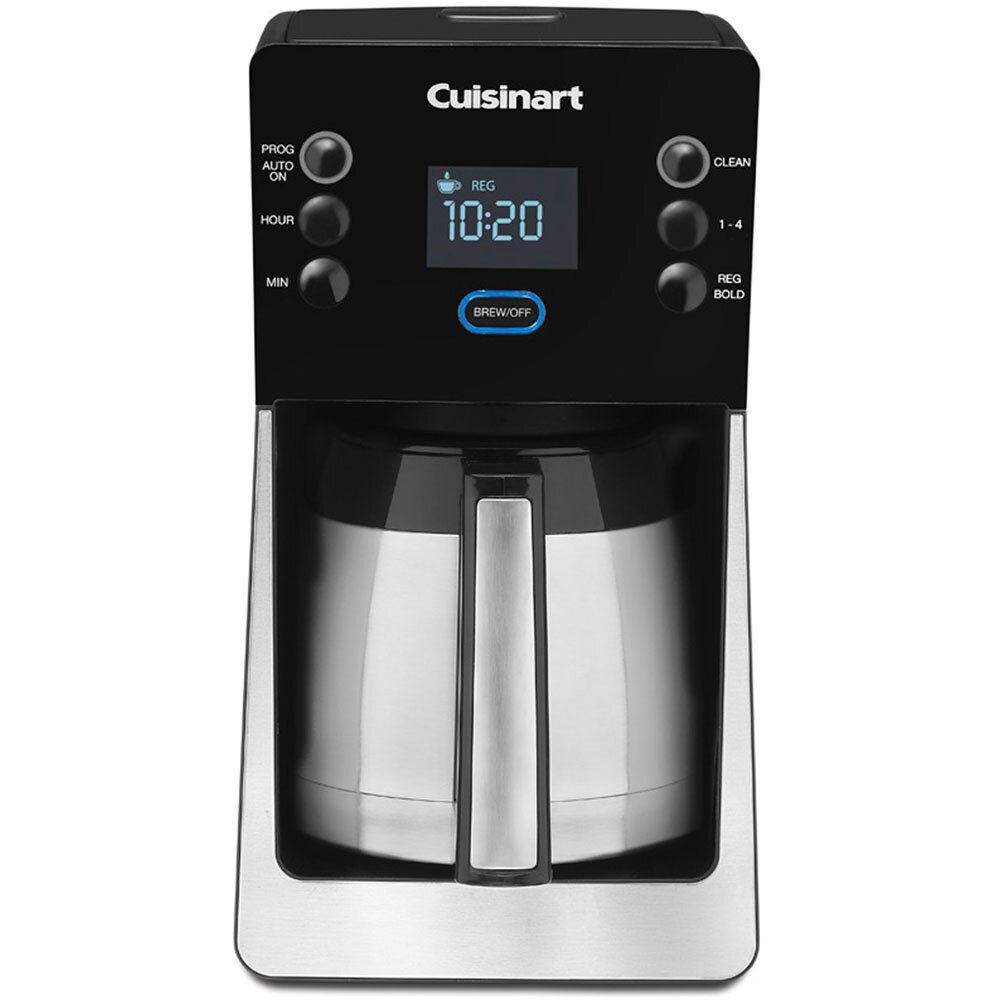 Programmable Thermal Coffee Maker Reviews : Cuisinart 12-Cup Thermal Programmable Coffee Maker & Reviews Wayfair