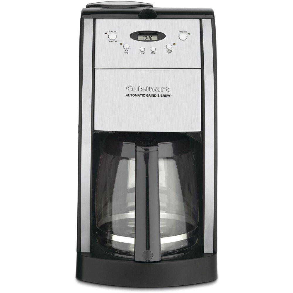 Cuisinart Coffee Maker Auto Brew : Cuisinart Grind & Brew 12 Cup Automatic Coffee Maker & Reviews Wayfair