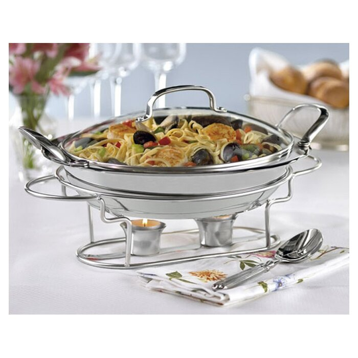 Cuisinart Classic Entertaining Round Buffet Server  : Round2BBuffet2BServer2Bin2BStainless2BSteel from www.wayfair.com size 700 x 700 jpeg 96kB