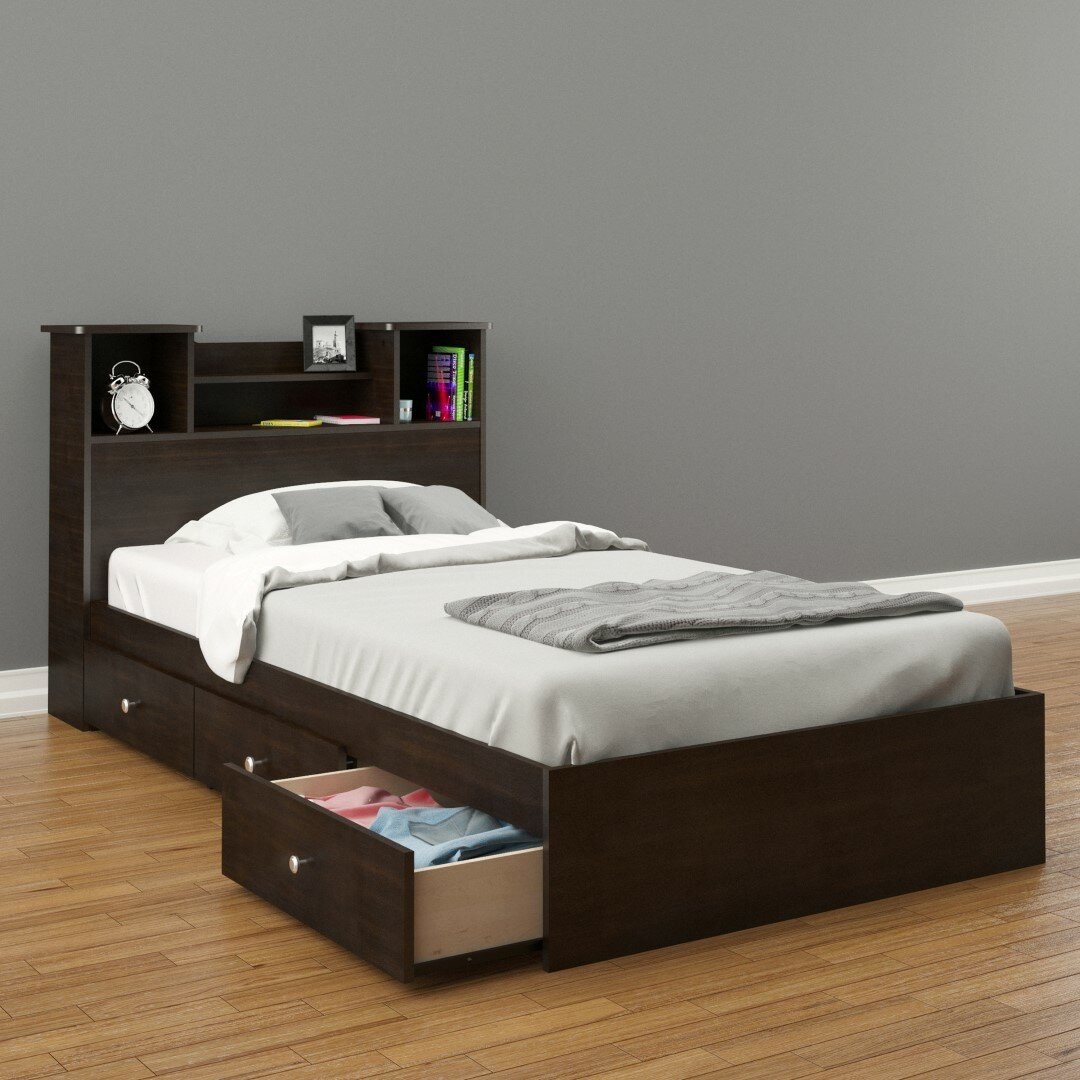 Nexera Pocono Platform Customizable Bedroom Set Reviews