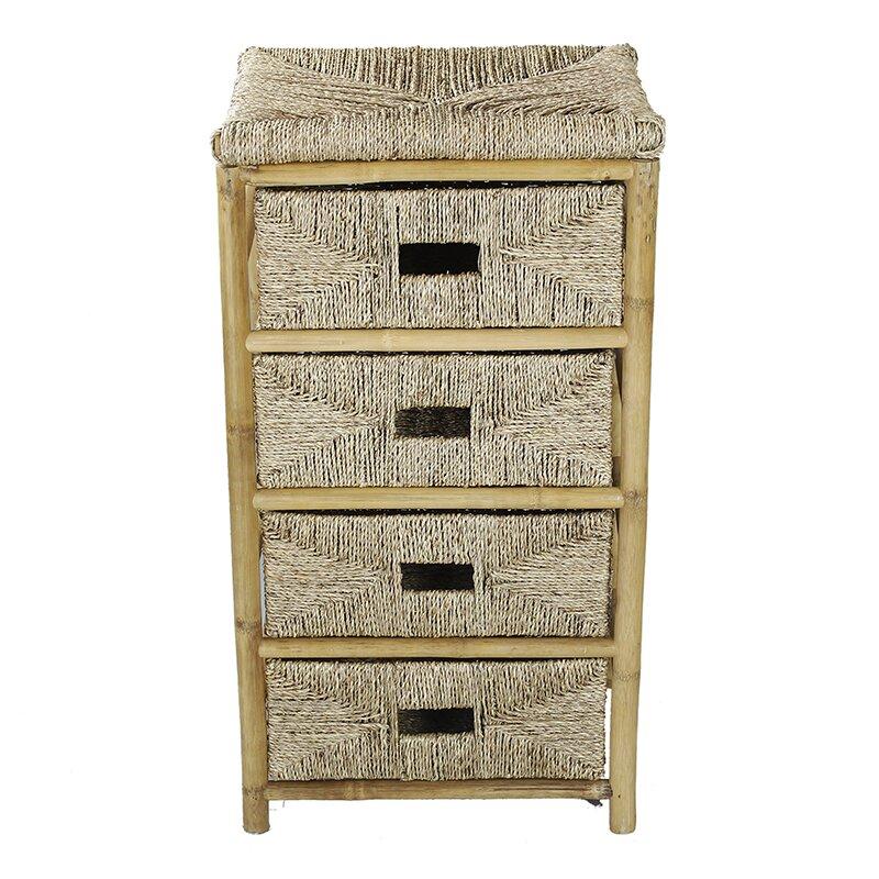 Heather Ann 4 Drawer Cabinet Wayfair