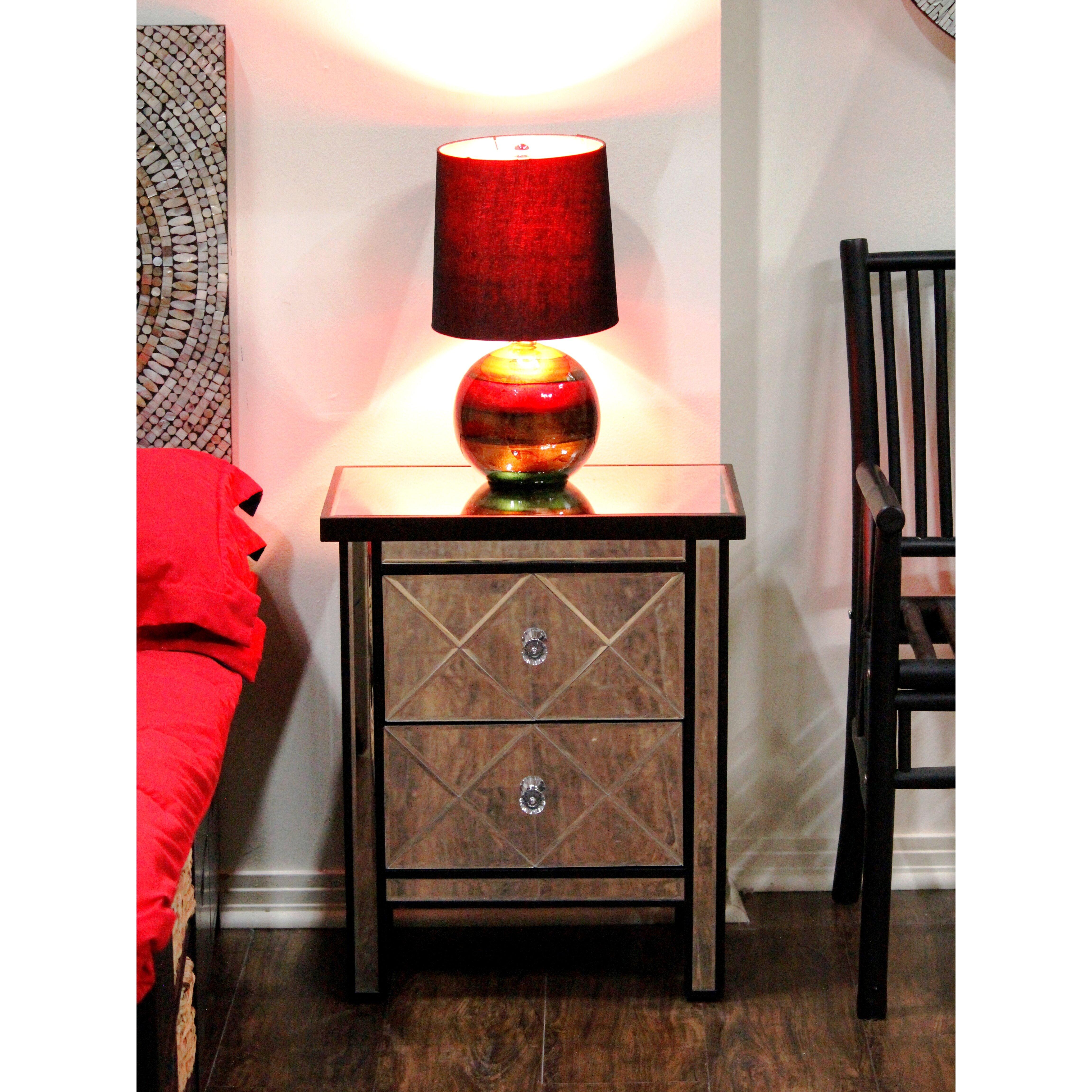 Heather Ann Wood Cabinet With Mirror Wayfair