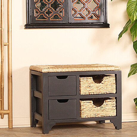 Heather Ann Wood Storage Entryway Bench Reviews
