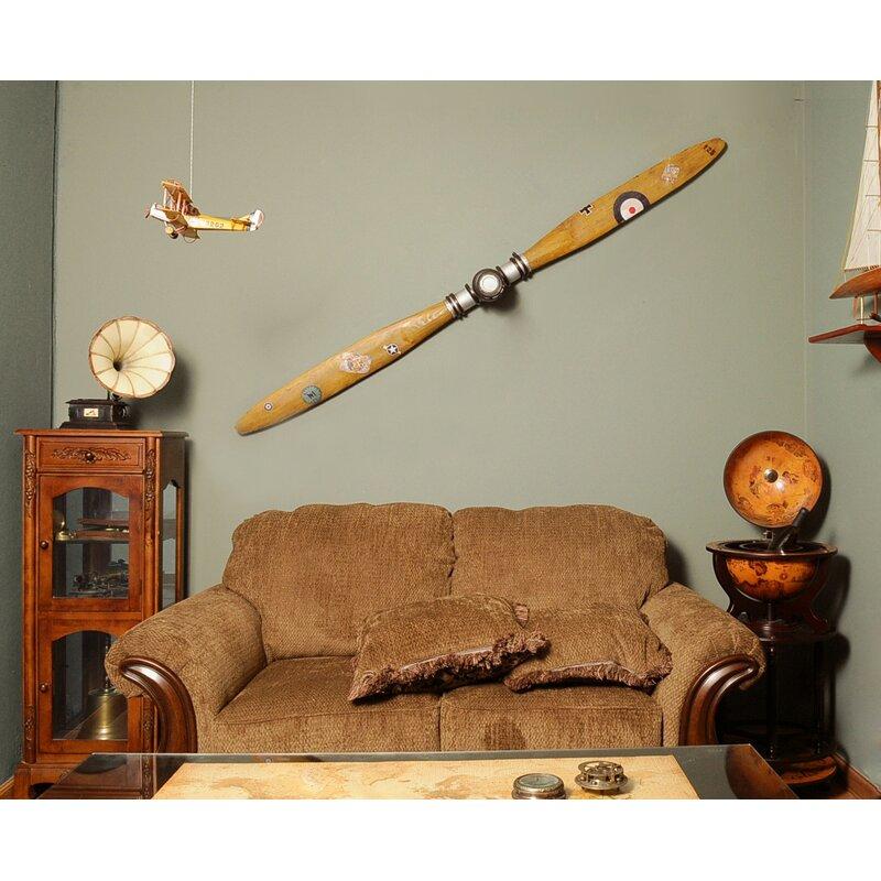 Old modern handicrafts decorative airplane propeller for Airplane propellers for decoration