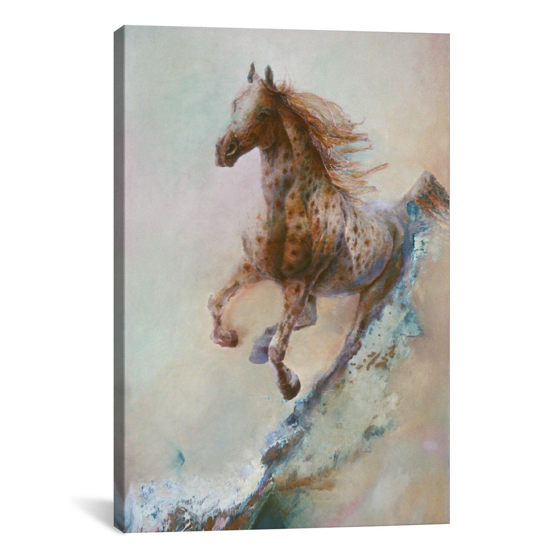 "iCanvas Decorative ""Appaloosa Run (Running Horse)"" by ..."