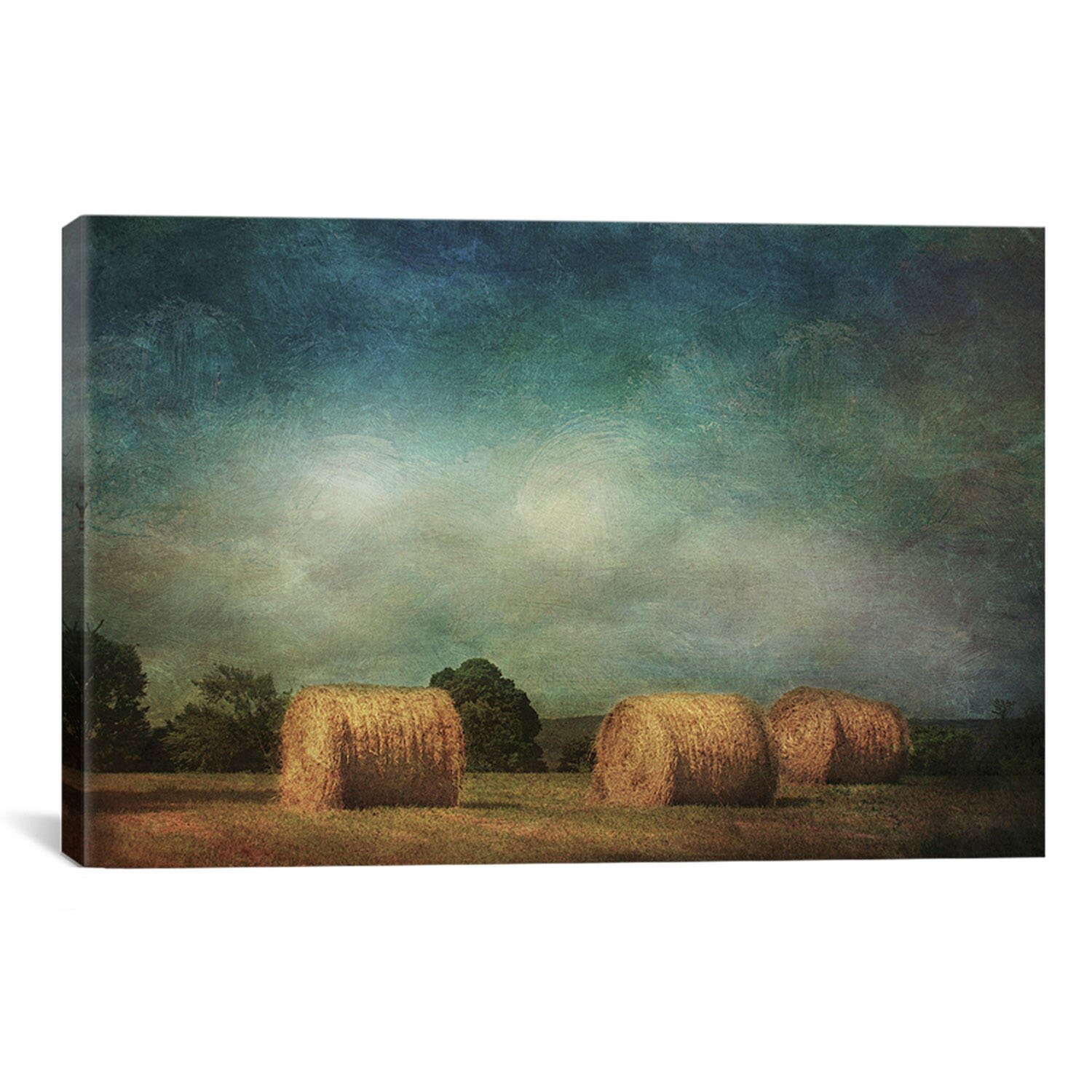 Icanvas 39 hay rolls 39 by dawne polis painting print on for Canvas roll for painting