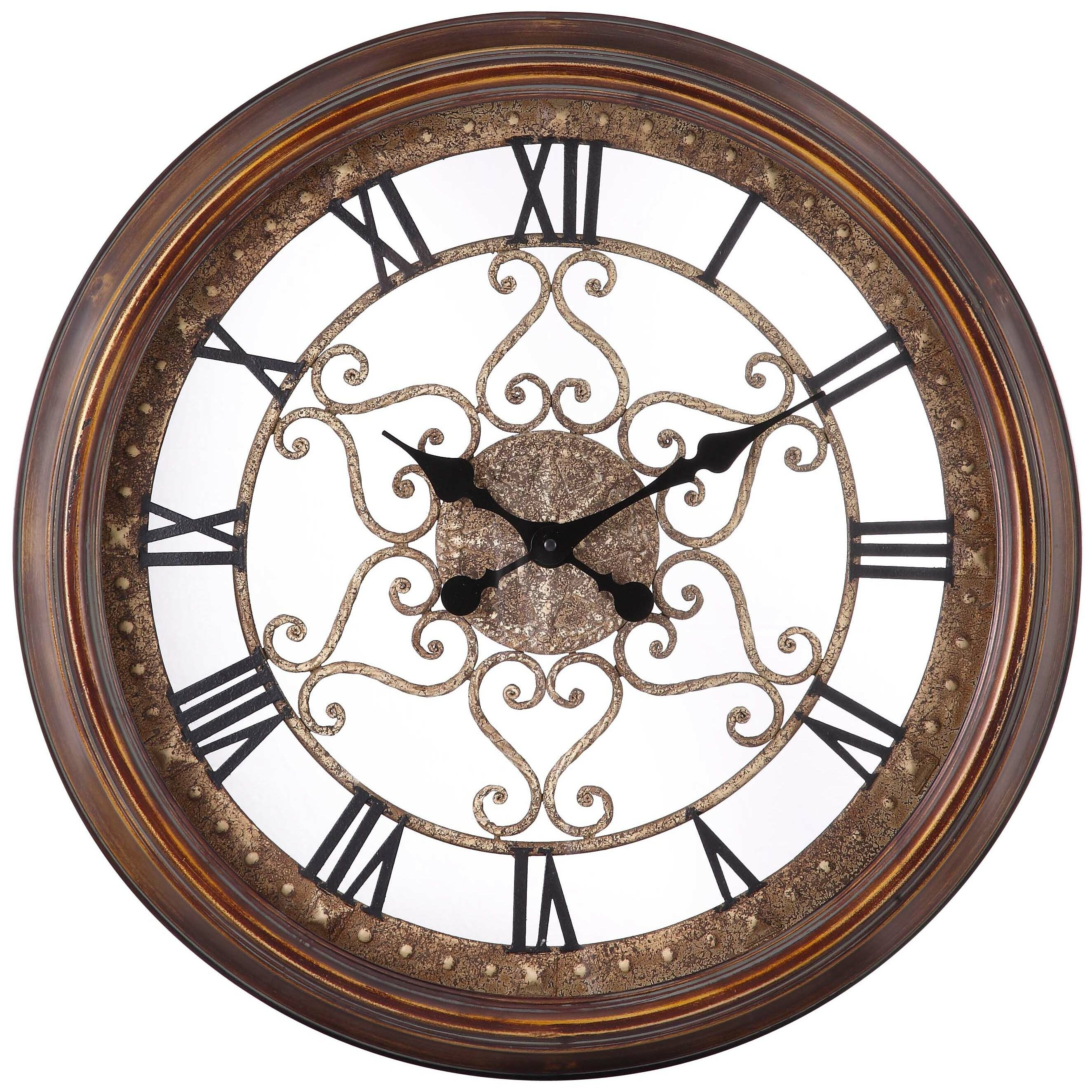 Cooper Classics Oversized 24 5 Quot Audrey Round Wall Clock