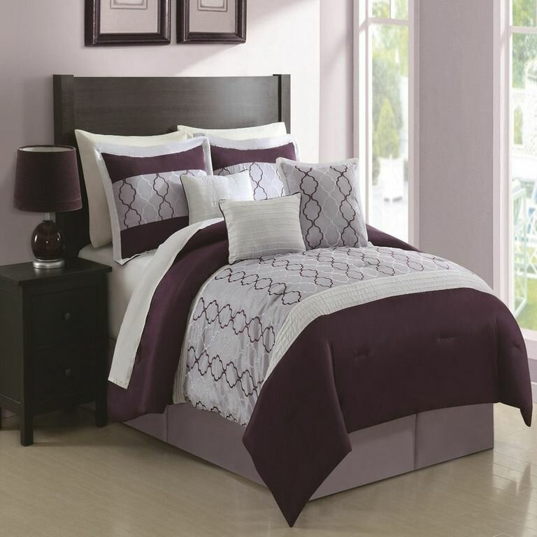 chic home cole 7 piece comforter set