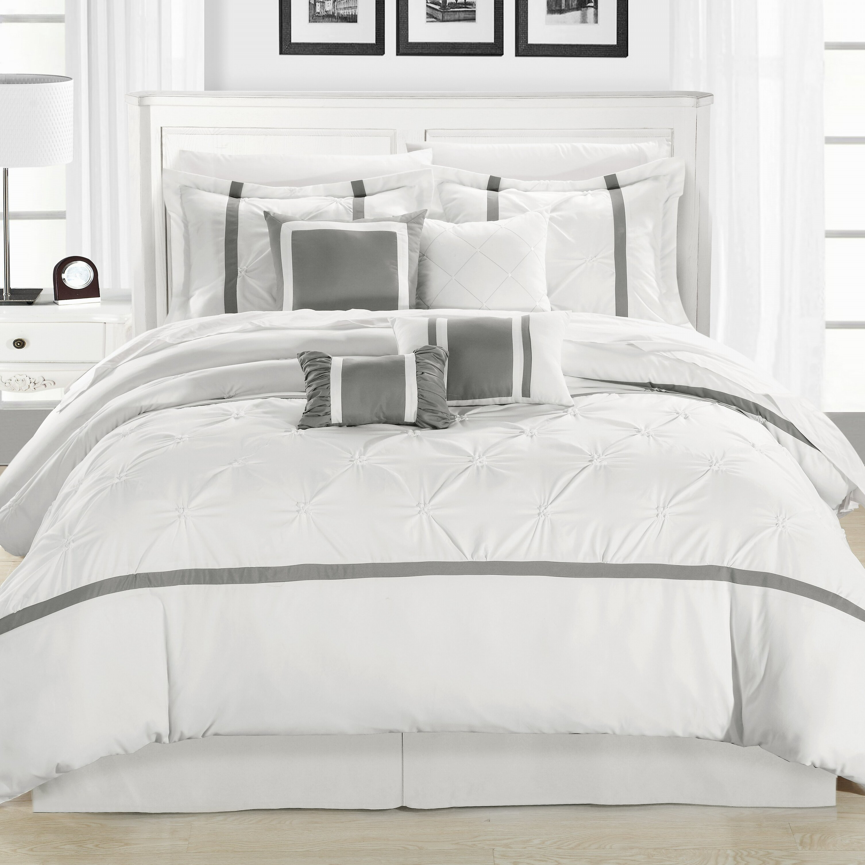 Chic Home Vermont 8 Piece Comforter Set Reviews