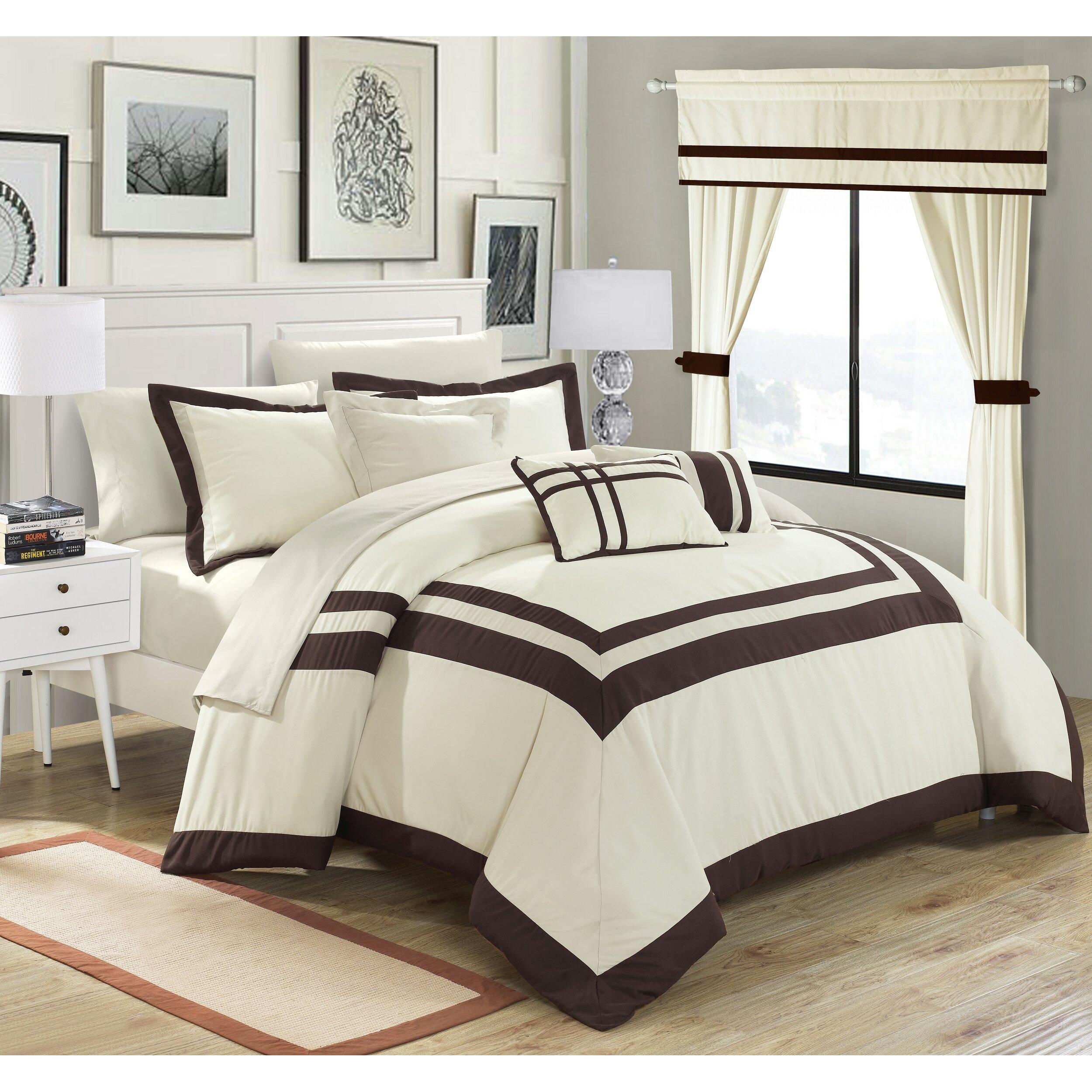 Chic Home Ritz 20 Piece Comforter Set Reviews Wayfair