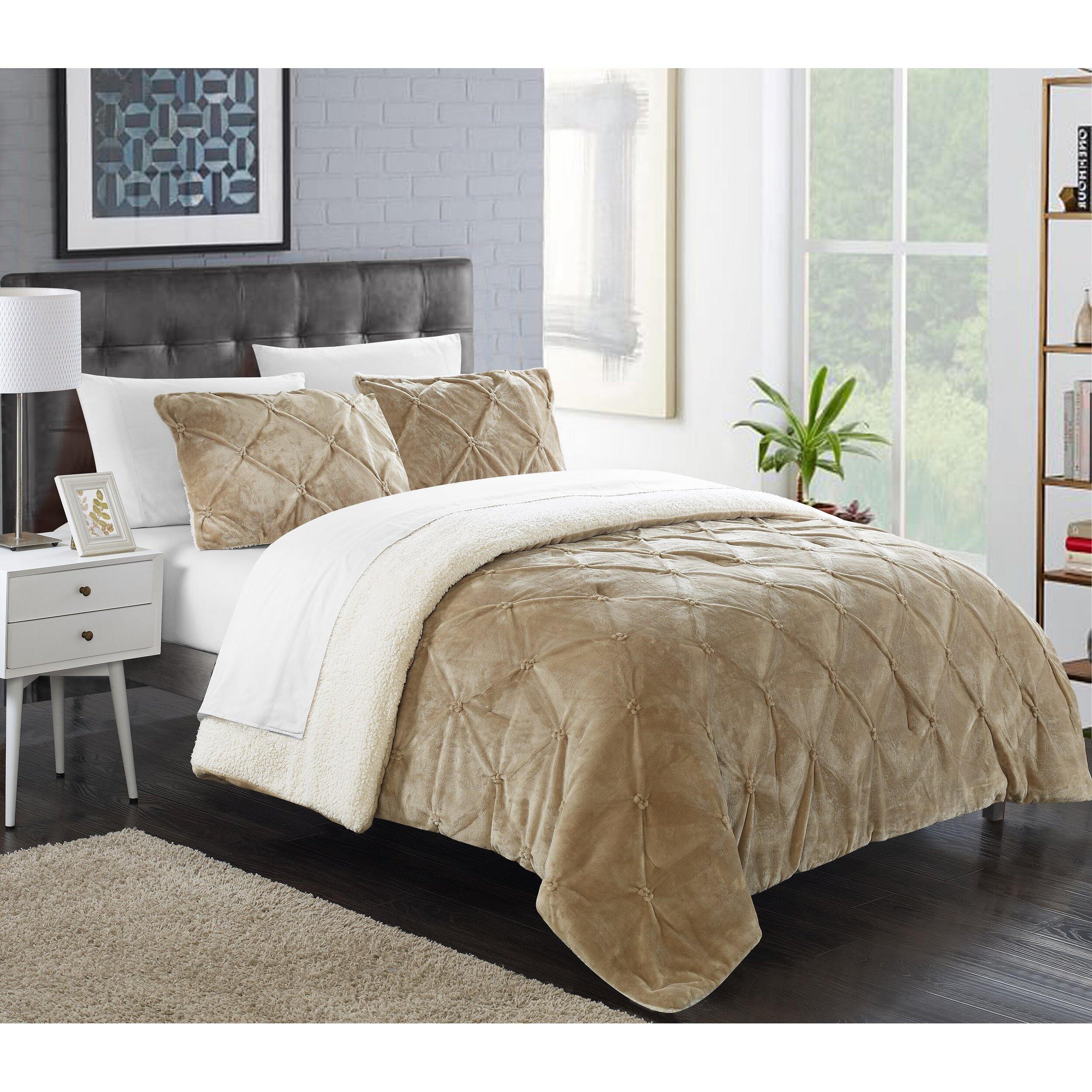 Chic home josepha 7 piece comforter set reviews wayfair for Home piece