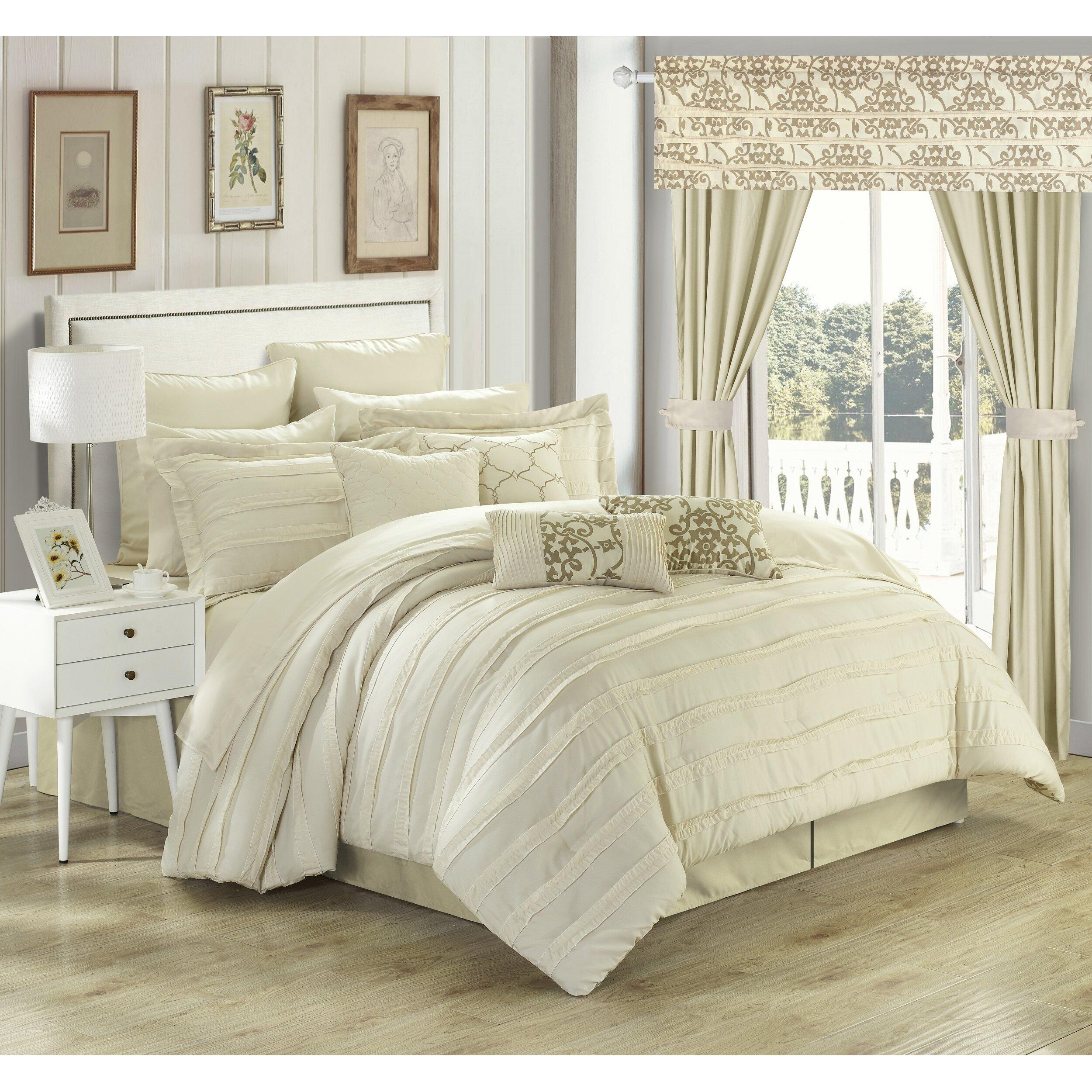 Chic Home Hailee 24 Piece Comforter Set Amp Reviews Wayfair