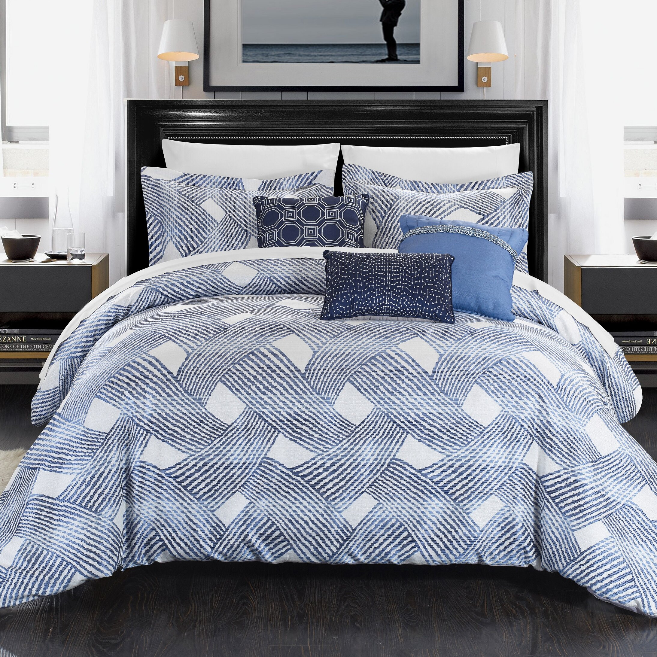 Chic Home Fiorella 6 Piece Comforter Set & Reviews