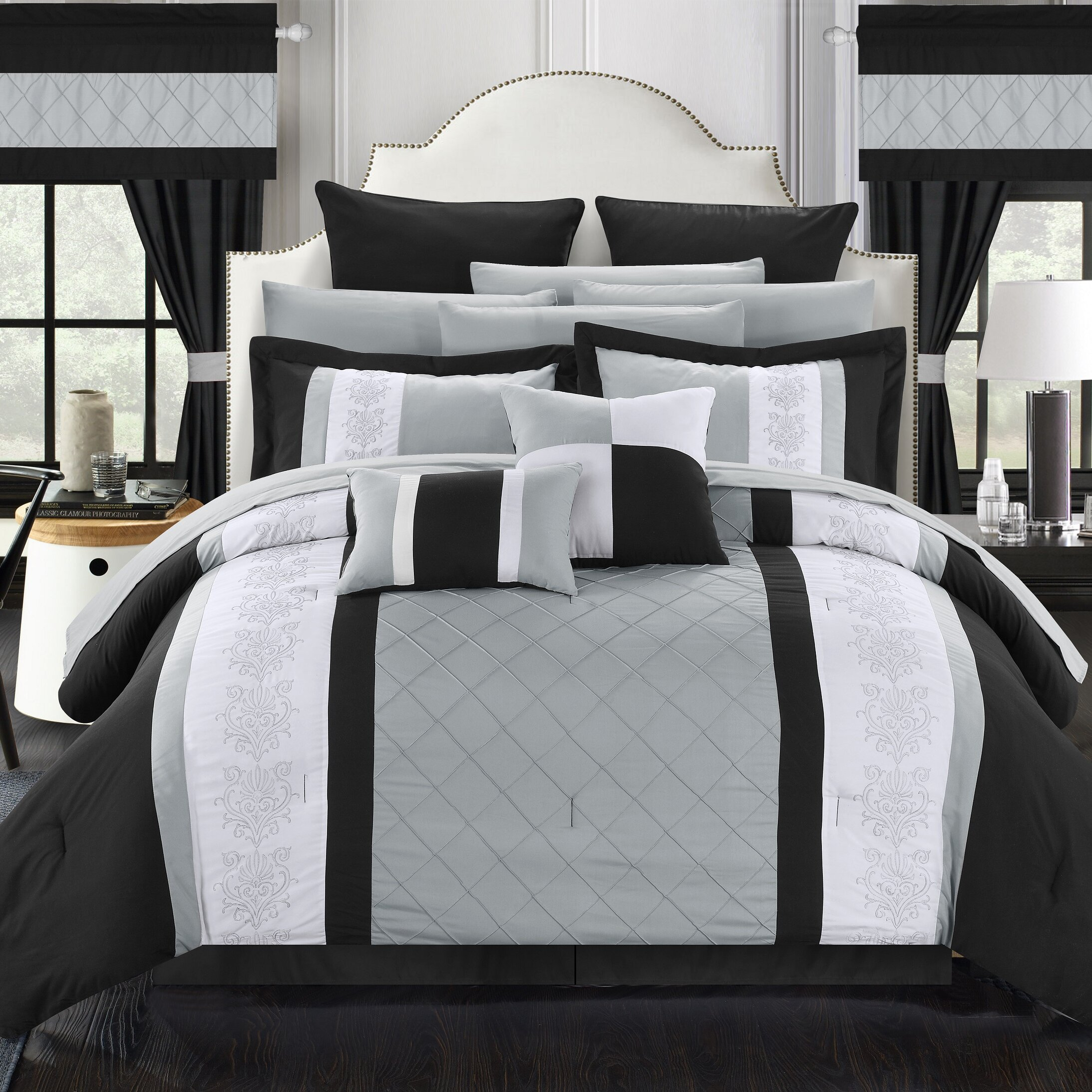 Chic Home Danielle 24 Piece Comforter Set Amp Reviews Wayfair