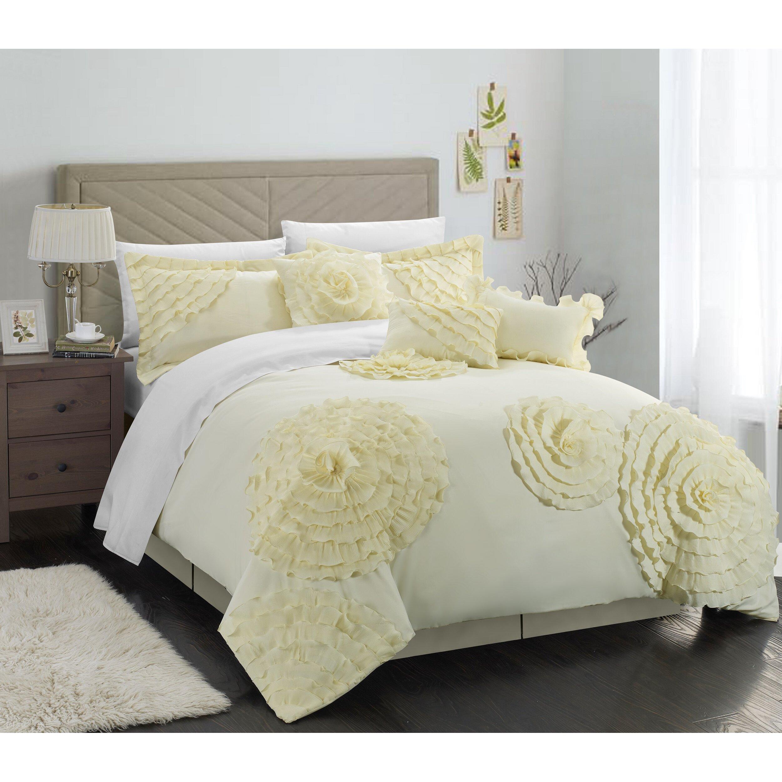 Chic Home Belinda 11 Piece Comforter Set Amp Reviews Wayfair