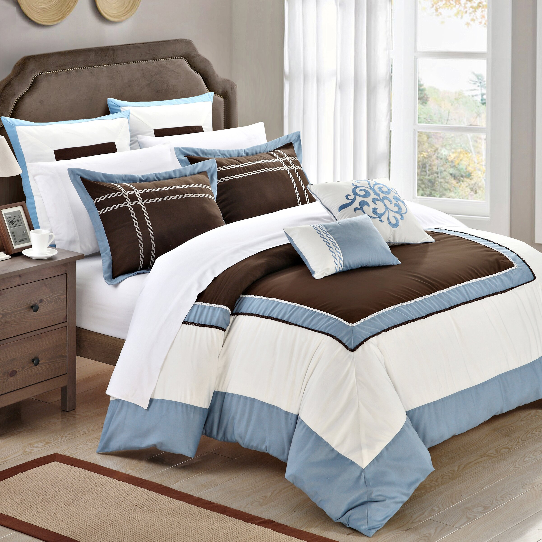 chic home ballroom 7 piece comforter set reviews wayfair