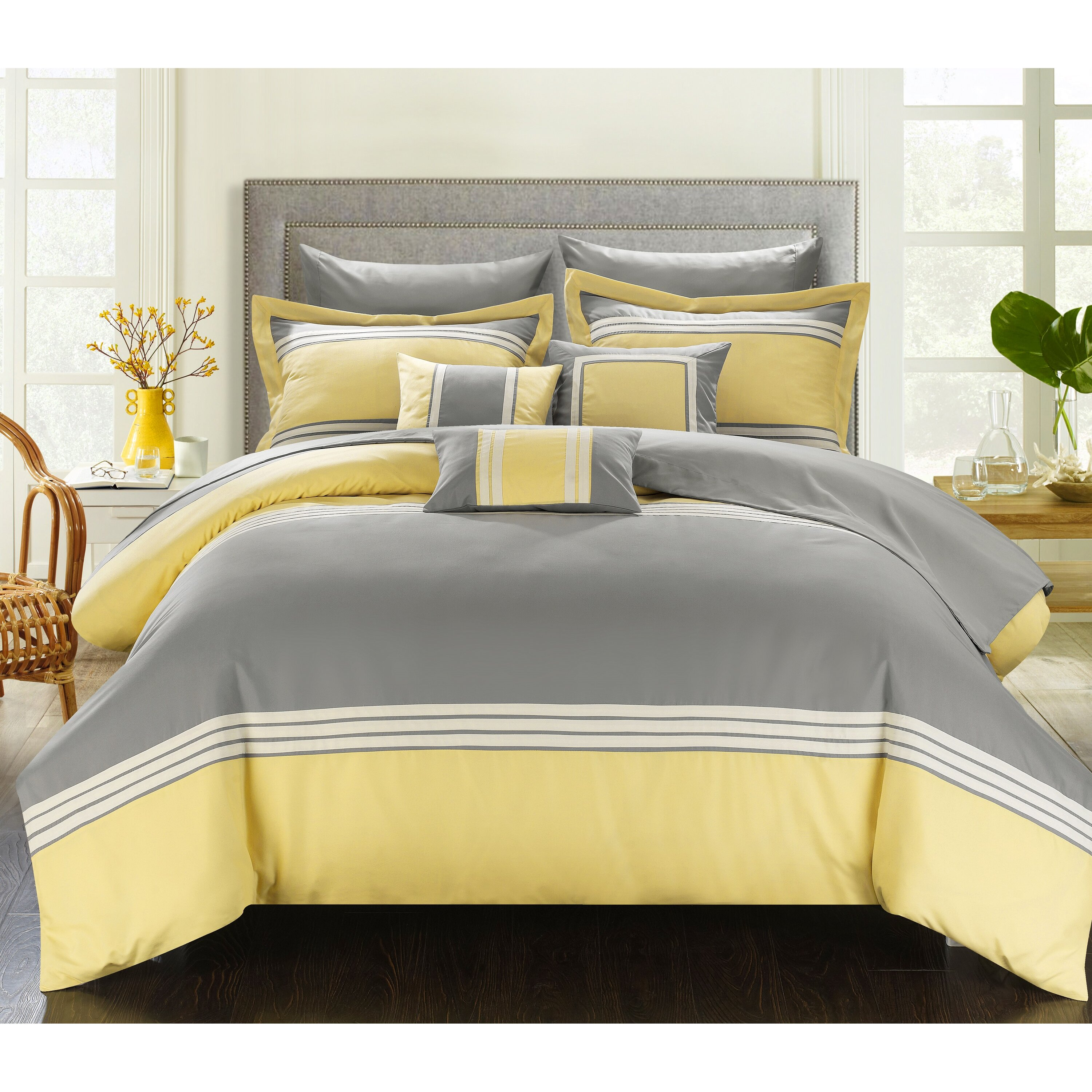 Reviews On Hotel Collection Bedding: Chic Home Falcon Hotel 8 Piece Twin Bed-In-A-Bag & Reviews