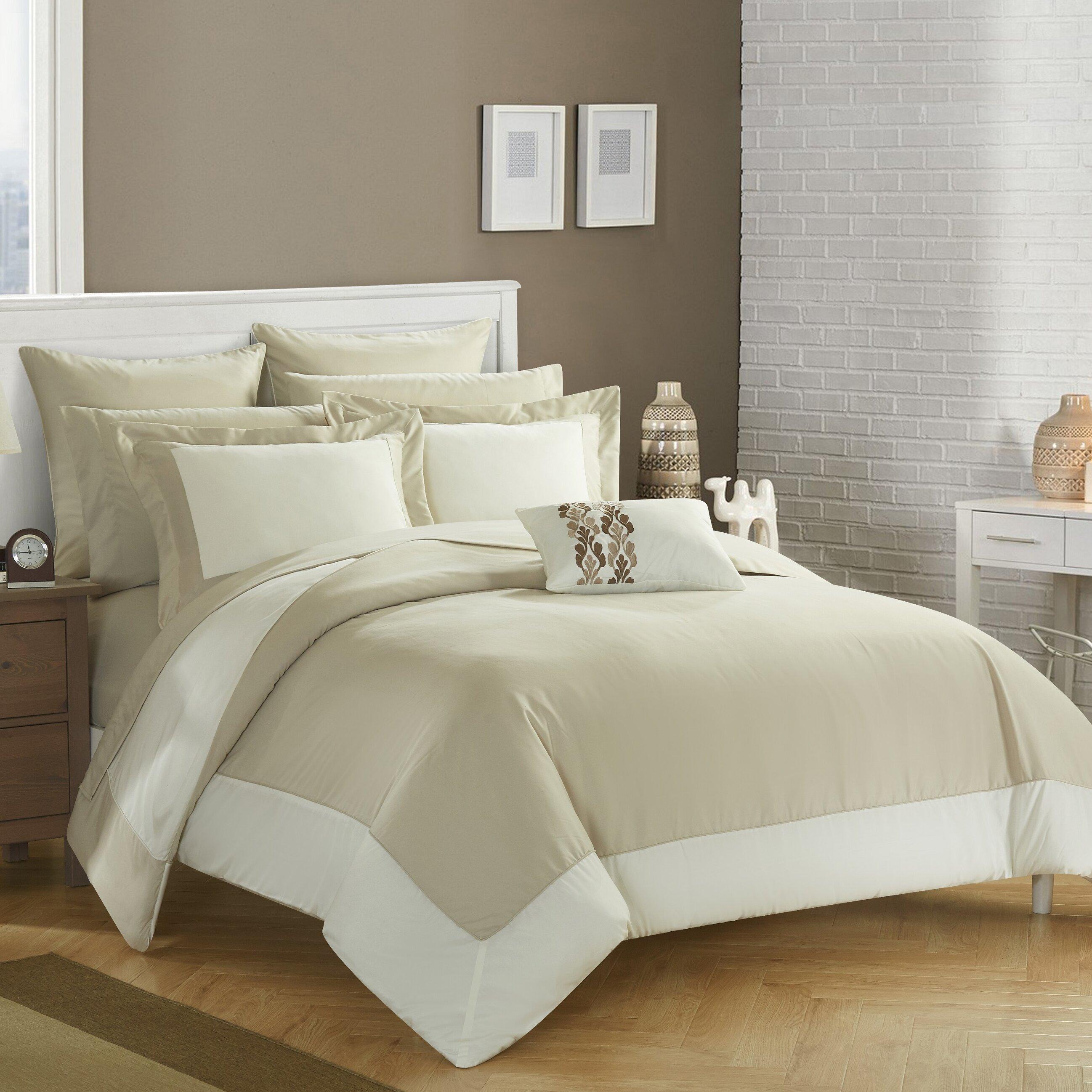 Chic Home Peninsula Reversible Comforter Set Reviews Wayfair