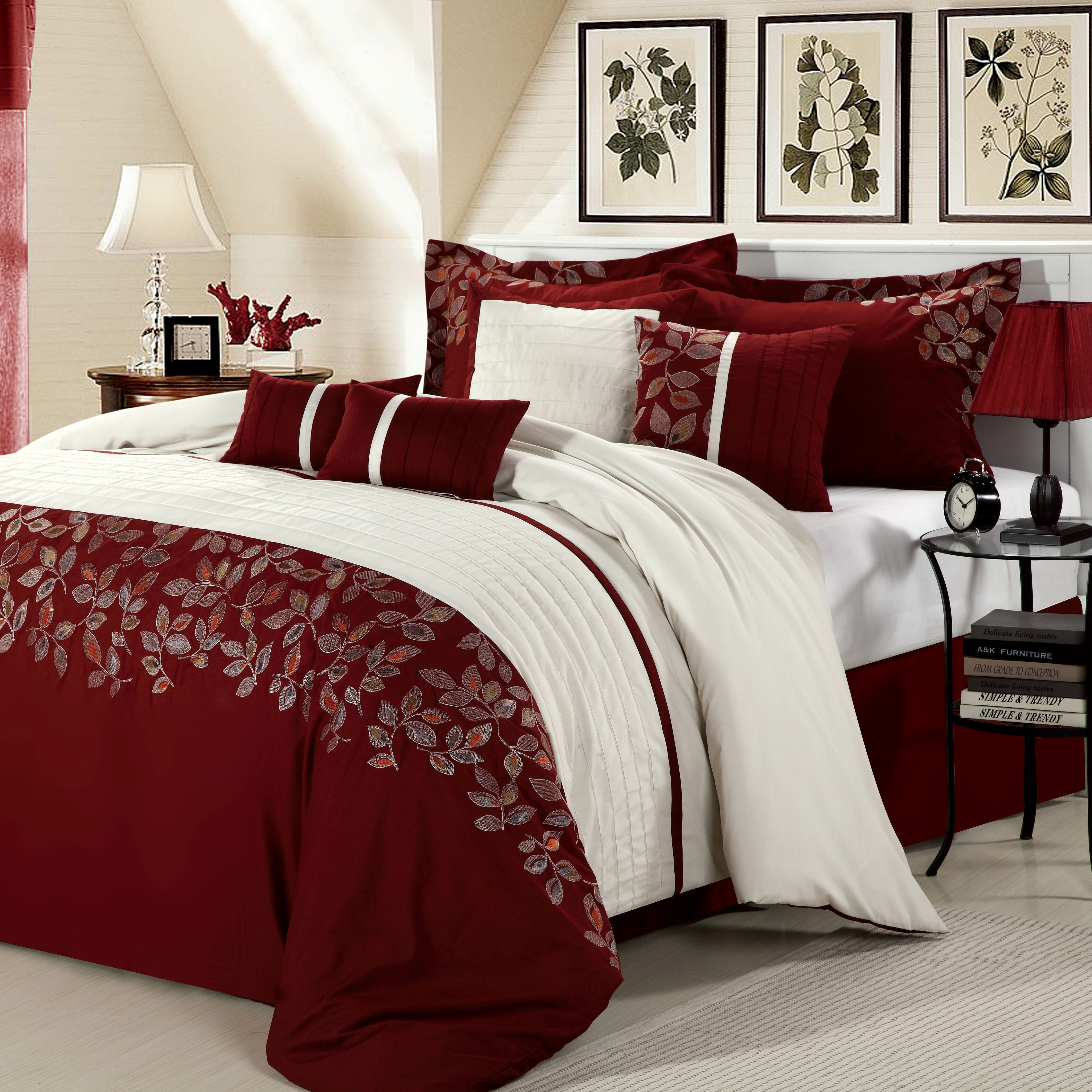 chic home montana 12 piece comforter set reviews wayfair