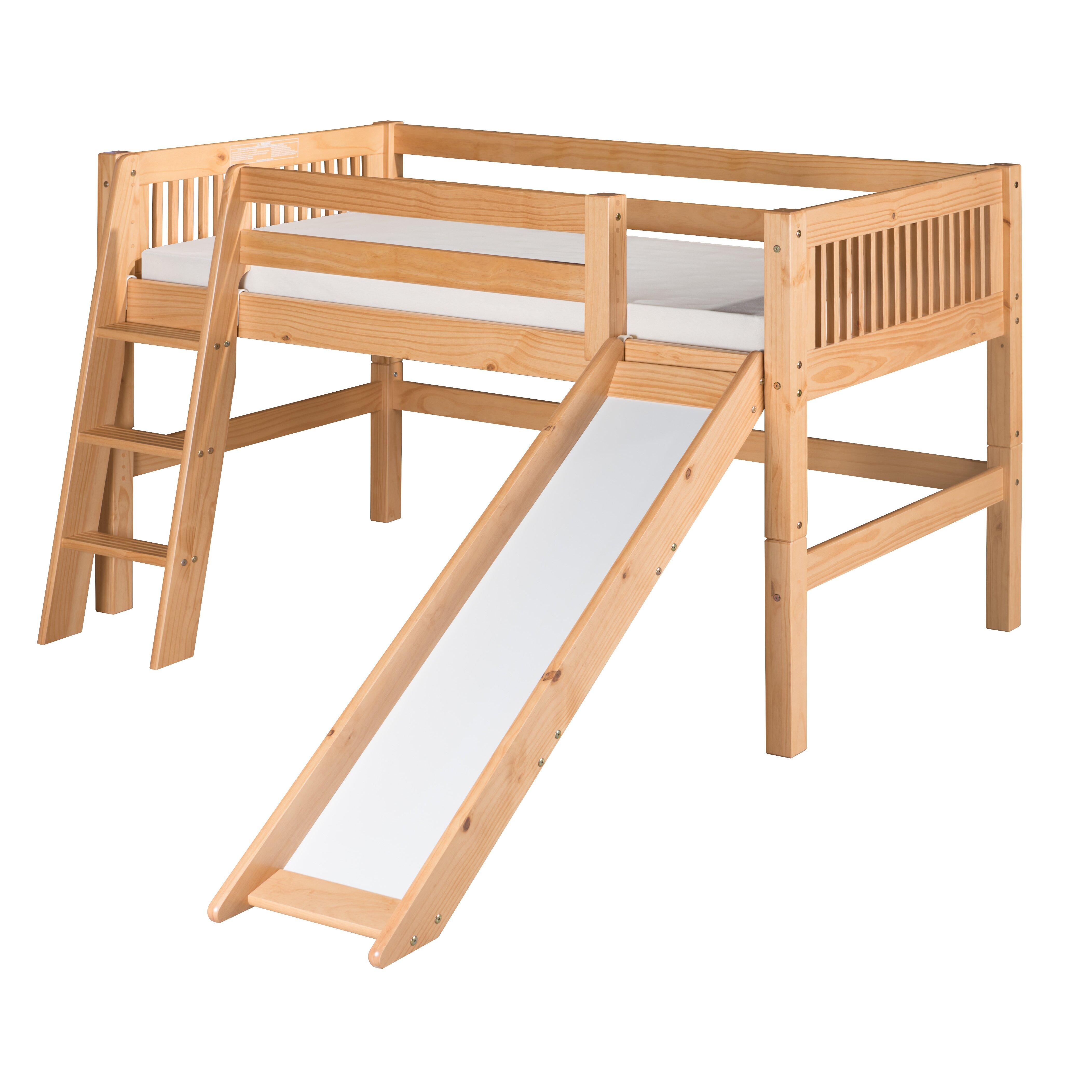 Camaflexi Twin Low Loft Bed & Reviews