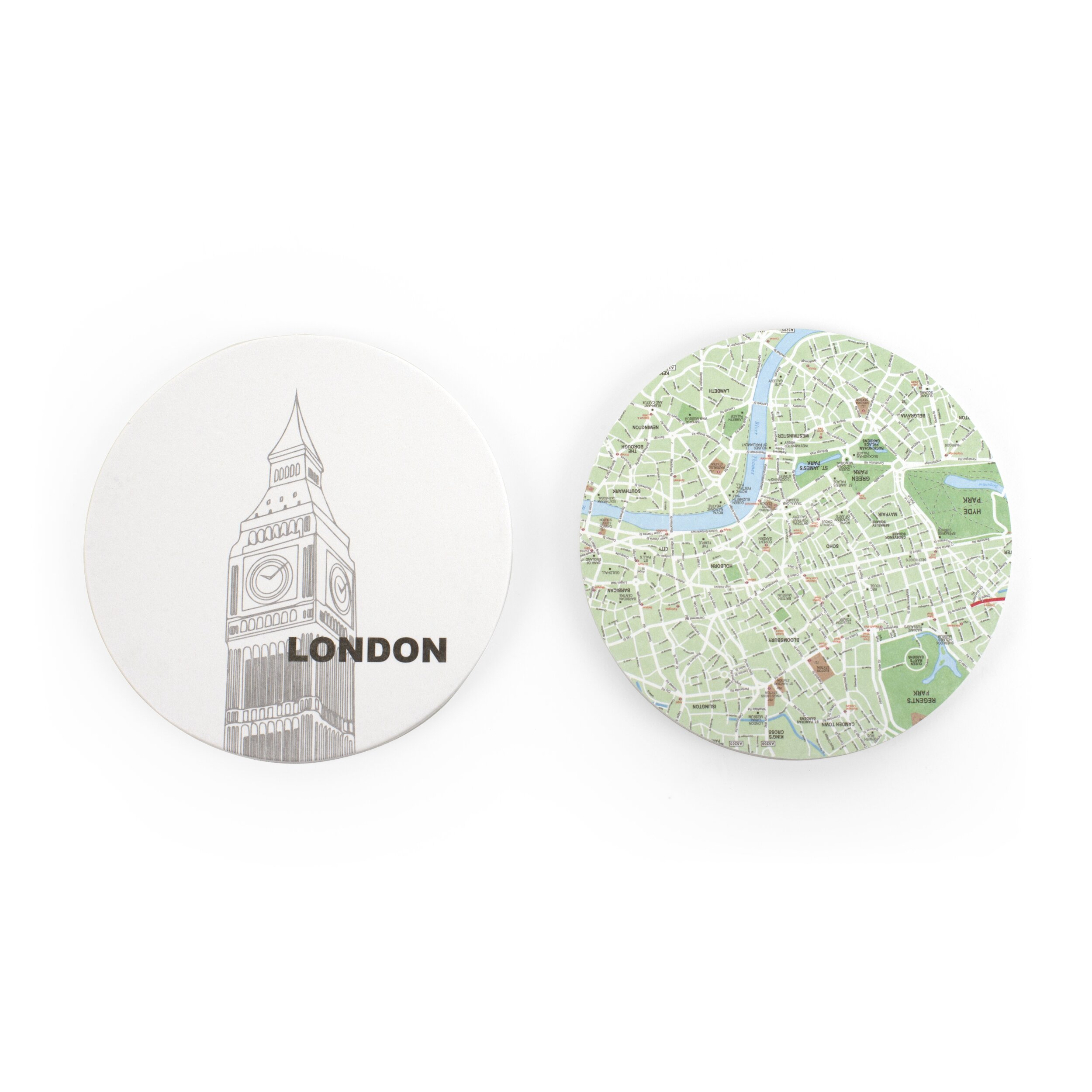 london map coaster by design ideas