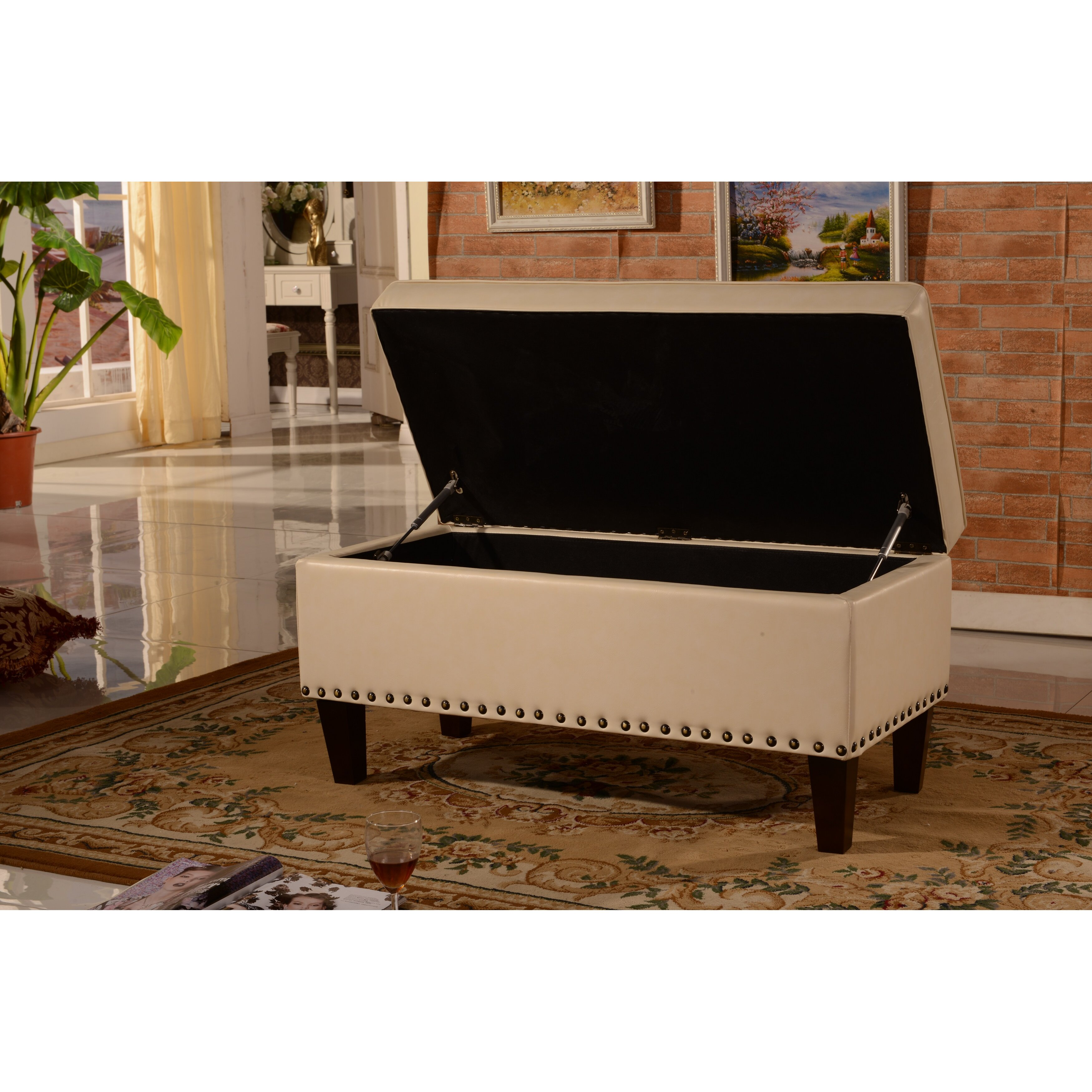 Adecotrading Storage Bedroom Bench Reviews: NOYA USA Storage Bedroom Bench & Reviews
