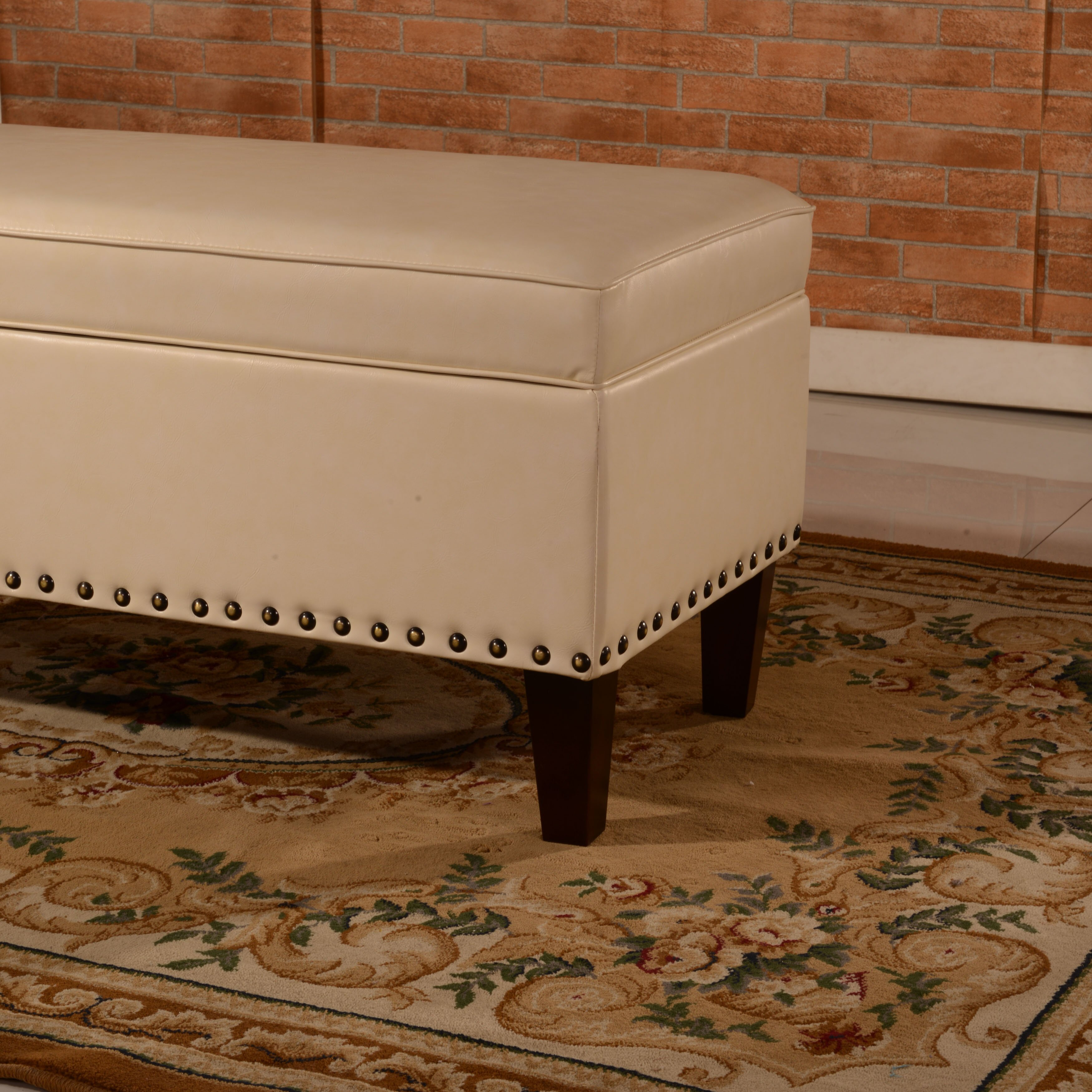 Noya Usa Castilian Upholstered Storage Bedroom Bench: NOYA USA Storage Bedroom Bench & Reviews