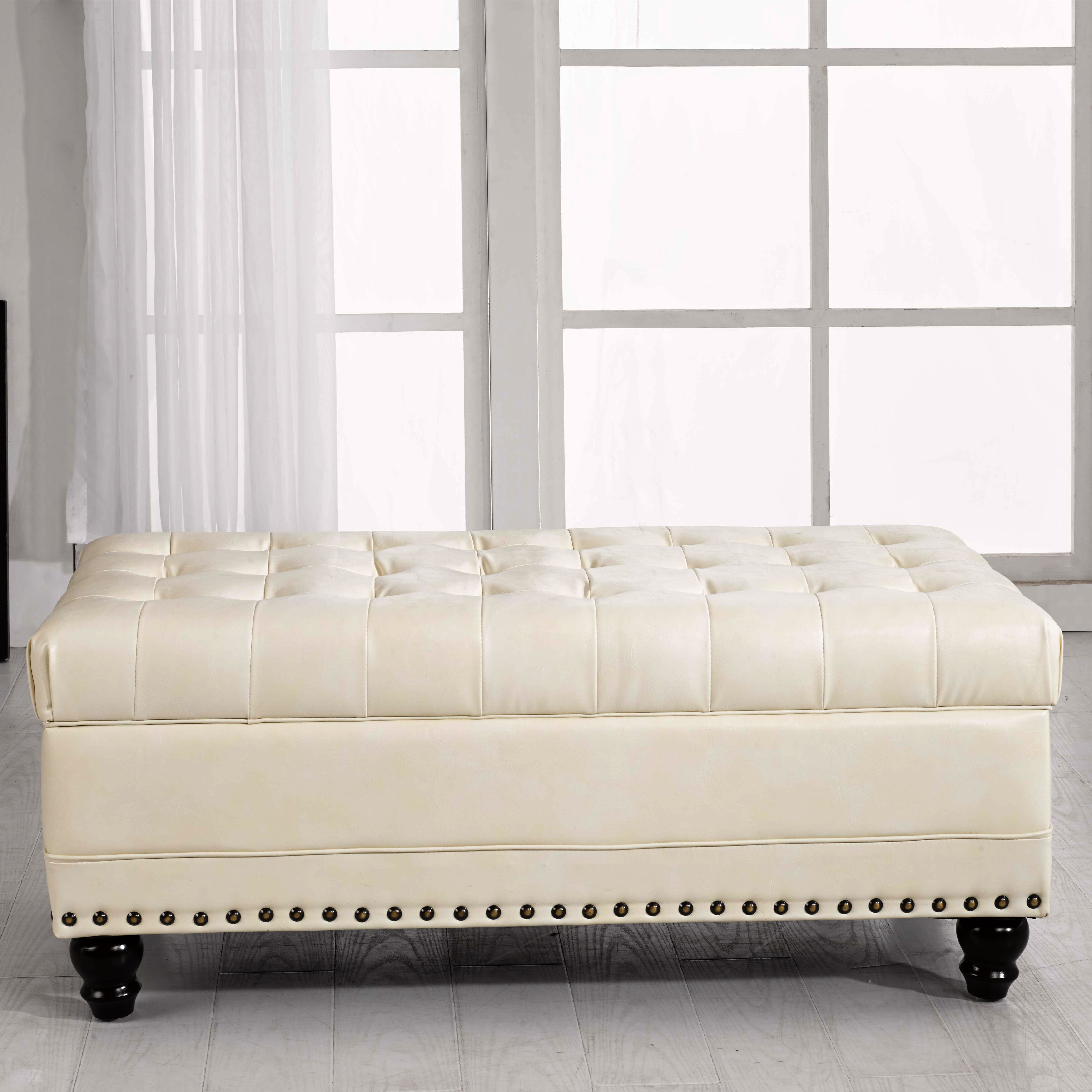 Noya usa castilian upholstered storage bedroom bench reviews wayfair Bedroom storage bench