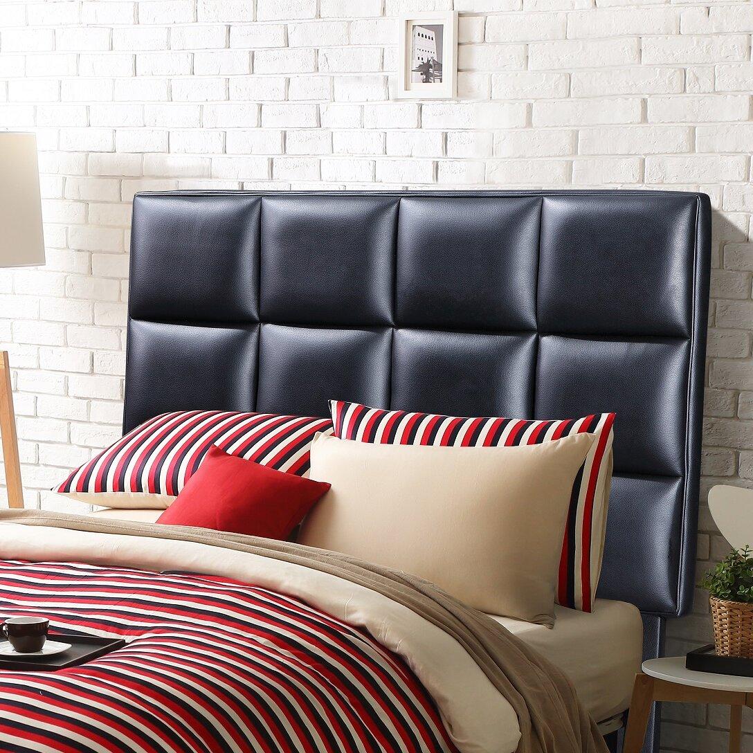 Noya Usa Castilian Upholstered Storage Bedroom Bench: NOYA USA Twin Upholstered Headboard & Reviews