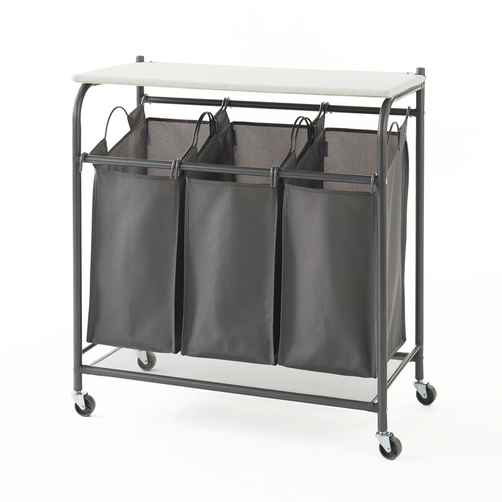 neatfreak triple sorter with iron board wayfair. Black Bedroom Furniture Sets. Home Design Ideas