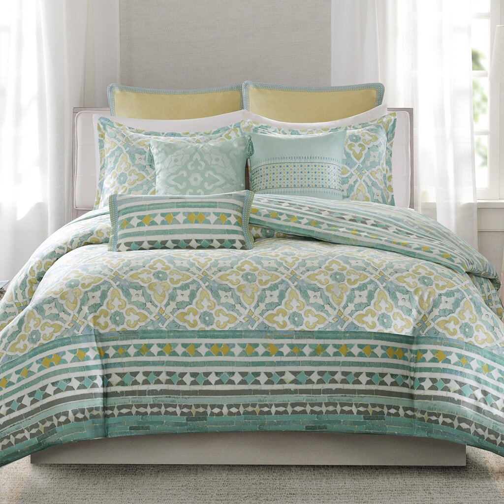 Echo Design Lagos Reversible Duvet Cover Set Amp Reviews
