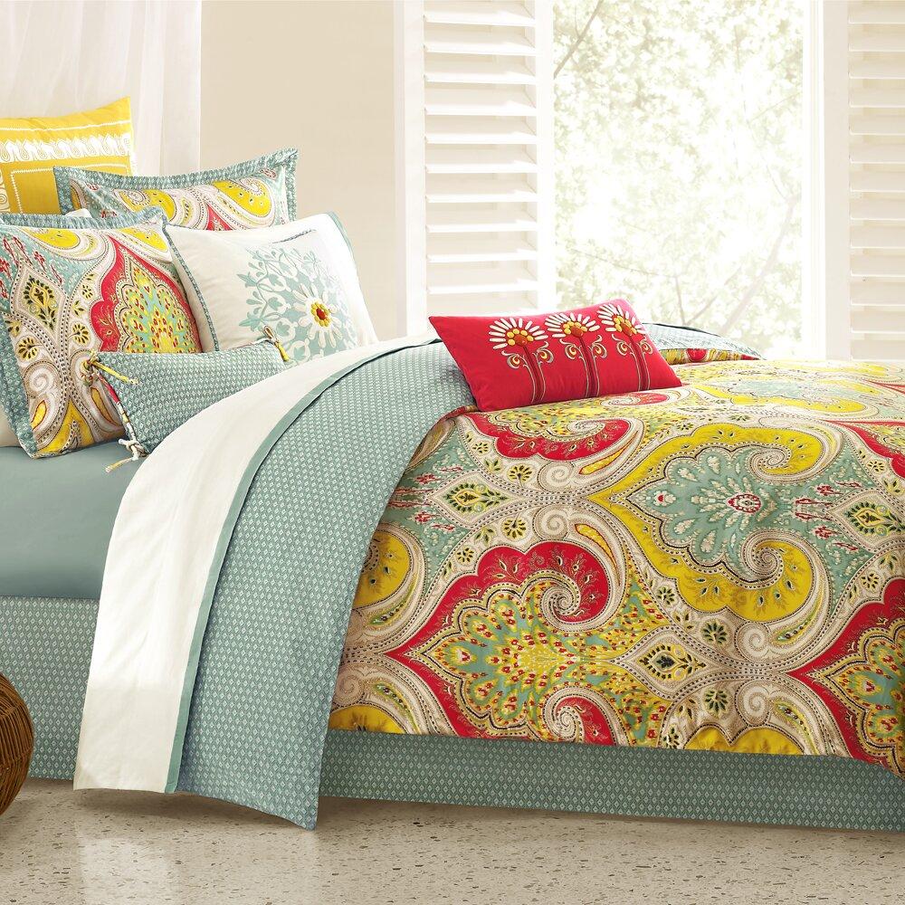 Echo design jaipur comforter collection reviews wayfair for Bed quilt designer