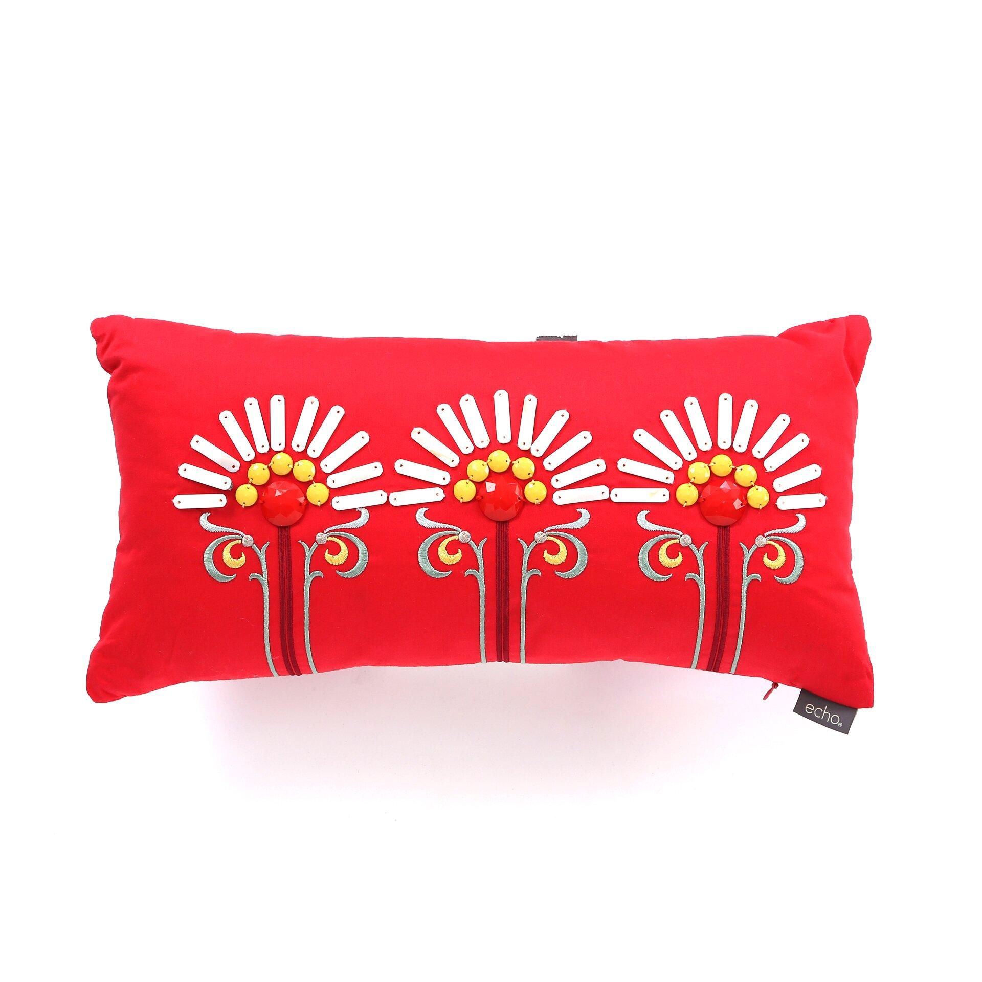 Echo Design Throw Pillows : echo design Jaipur Cotton Lumbar Pillow & Reviews Wayfair