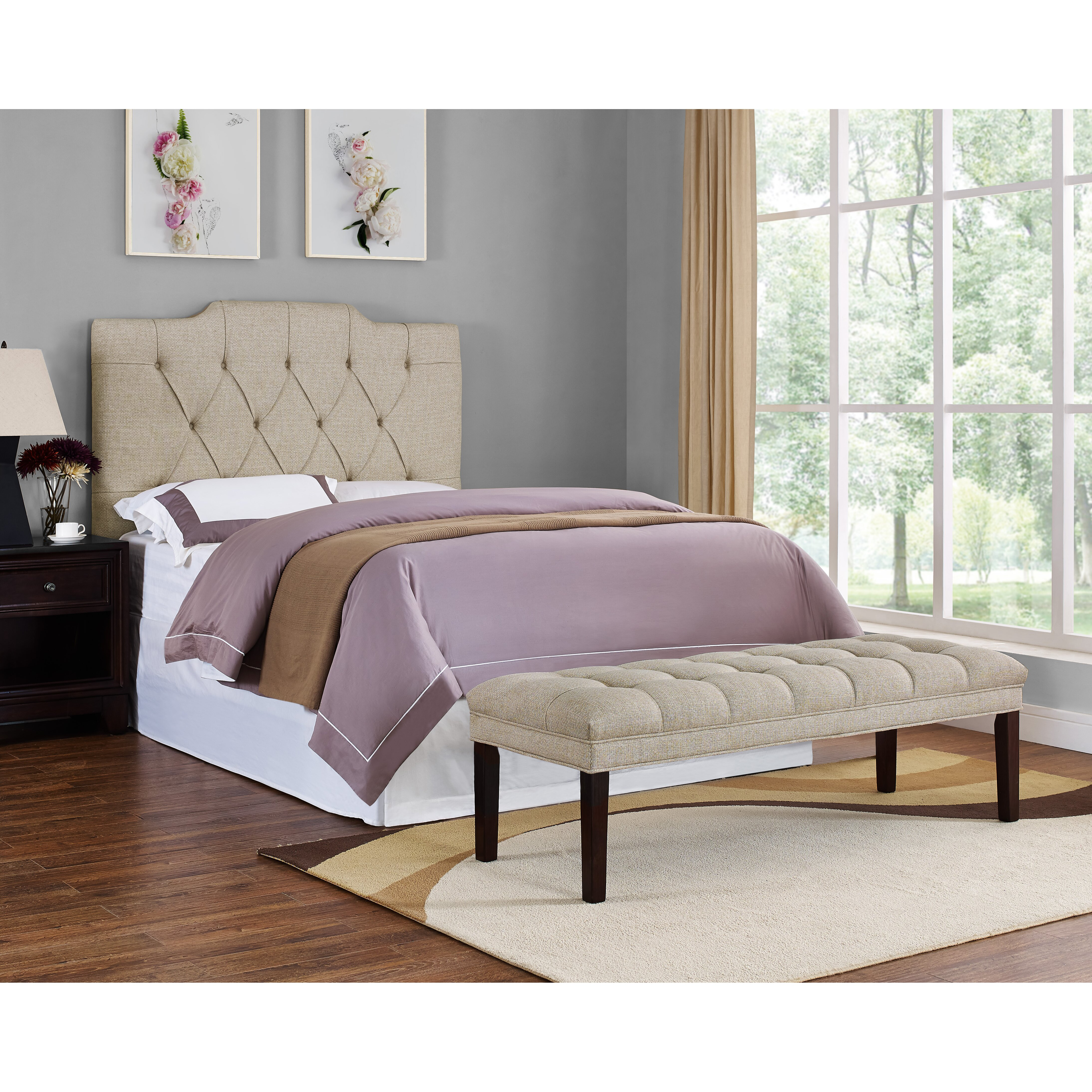 Pri Upholstered Tufted Bedroom Bench Reviews Wayfair