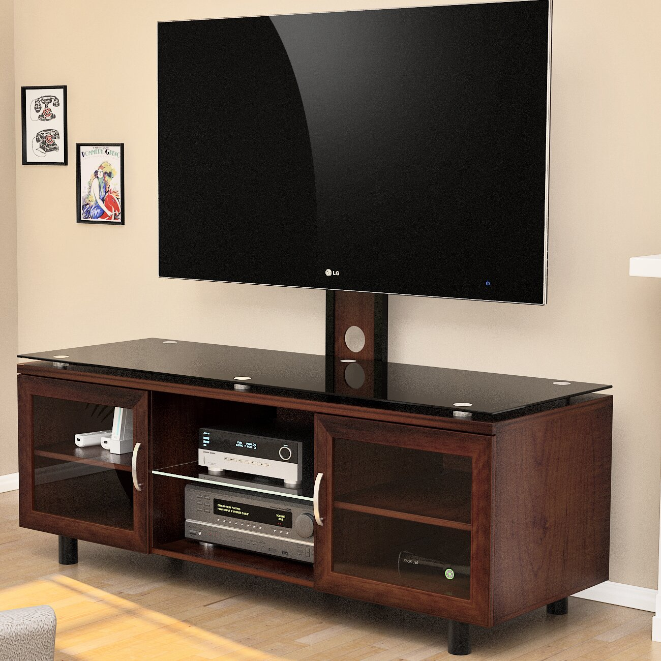 Tv Stand Designs And Price : Z line designs quinn in tv mount system reviews