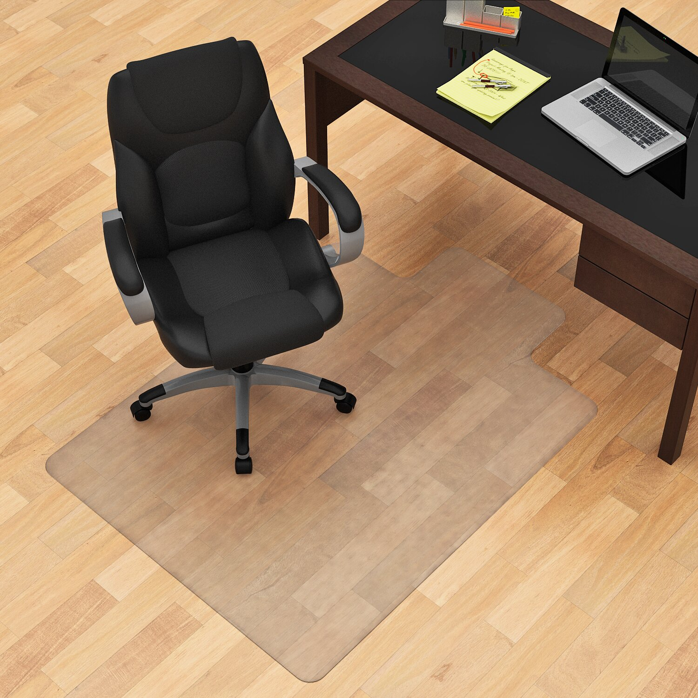 z line designs hard floor straight edge chair mat reviews wayfair. Black Bedroom Furniture Sets. Home Design Ideas