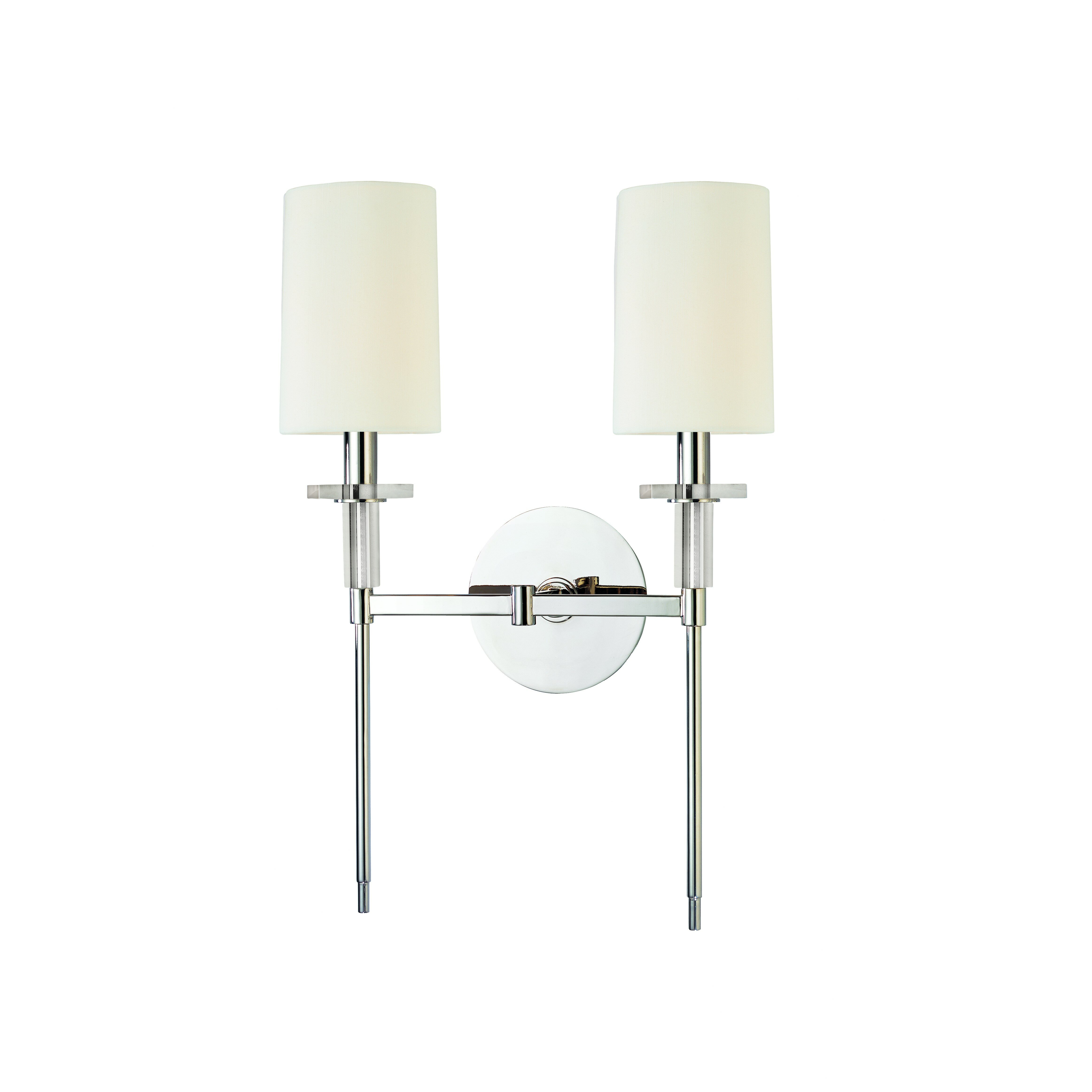 Where Is Hudson Valley Lighting Made: Hudson Valley Lighting Amherst 2 Light Candle Sconce